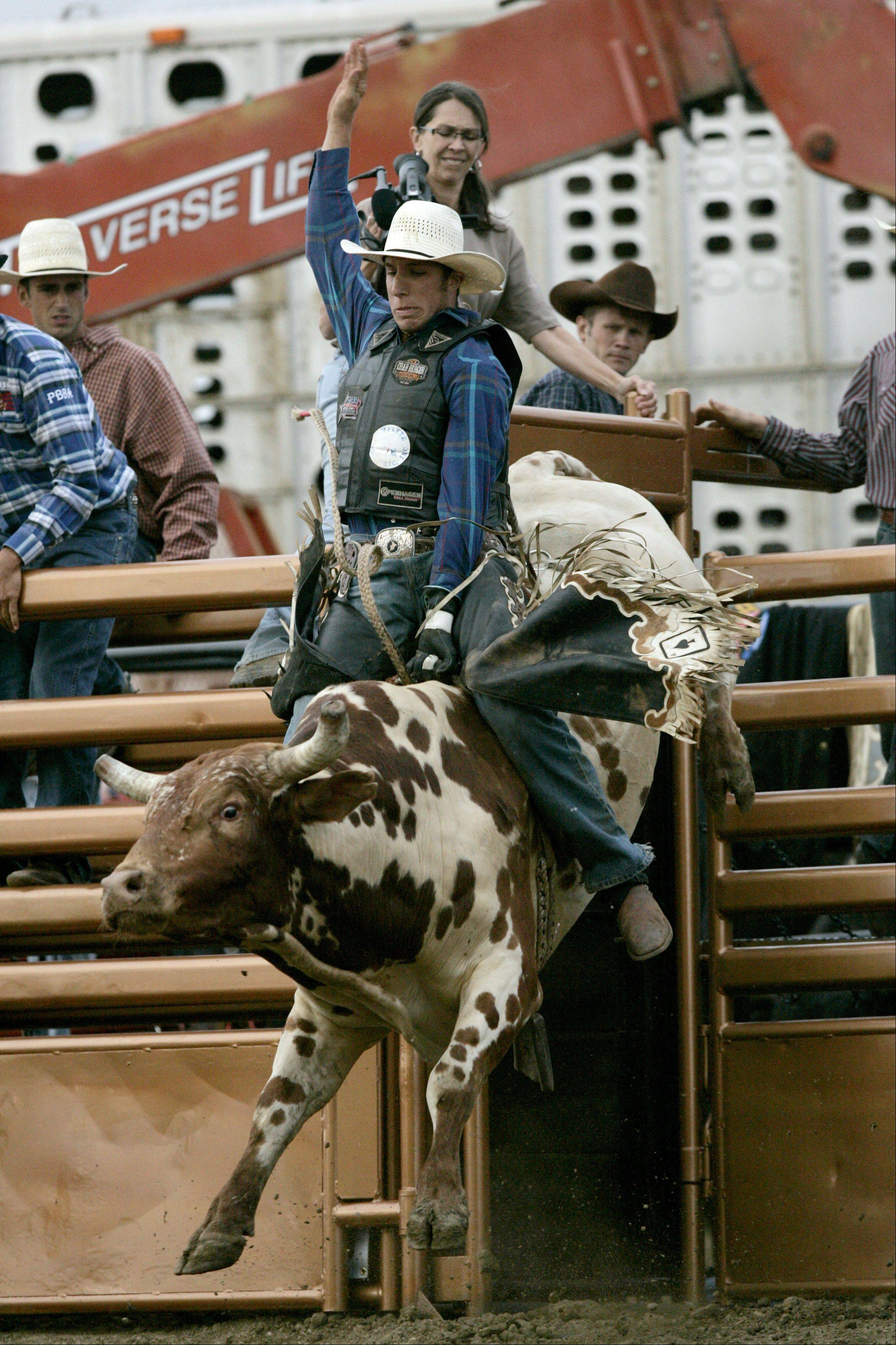 Based on the popularity of bull riding, the Kane County Fair has added additional shows this year.