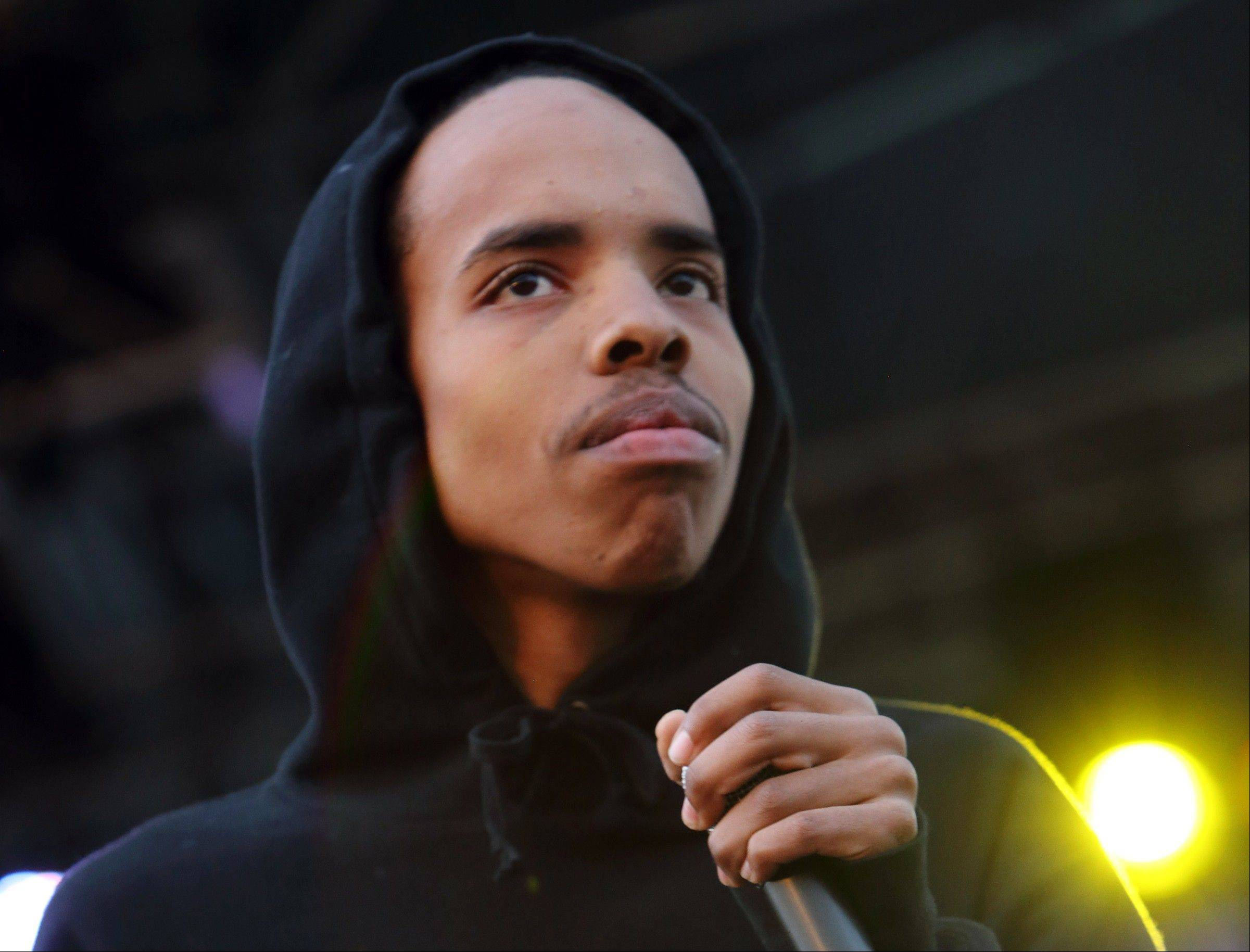 Earl Sweatshirt performs at The Sasquatch! Music Festival in George, Wash.