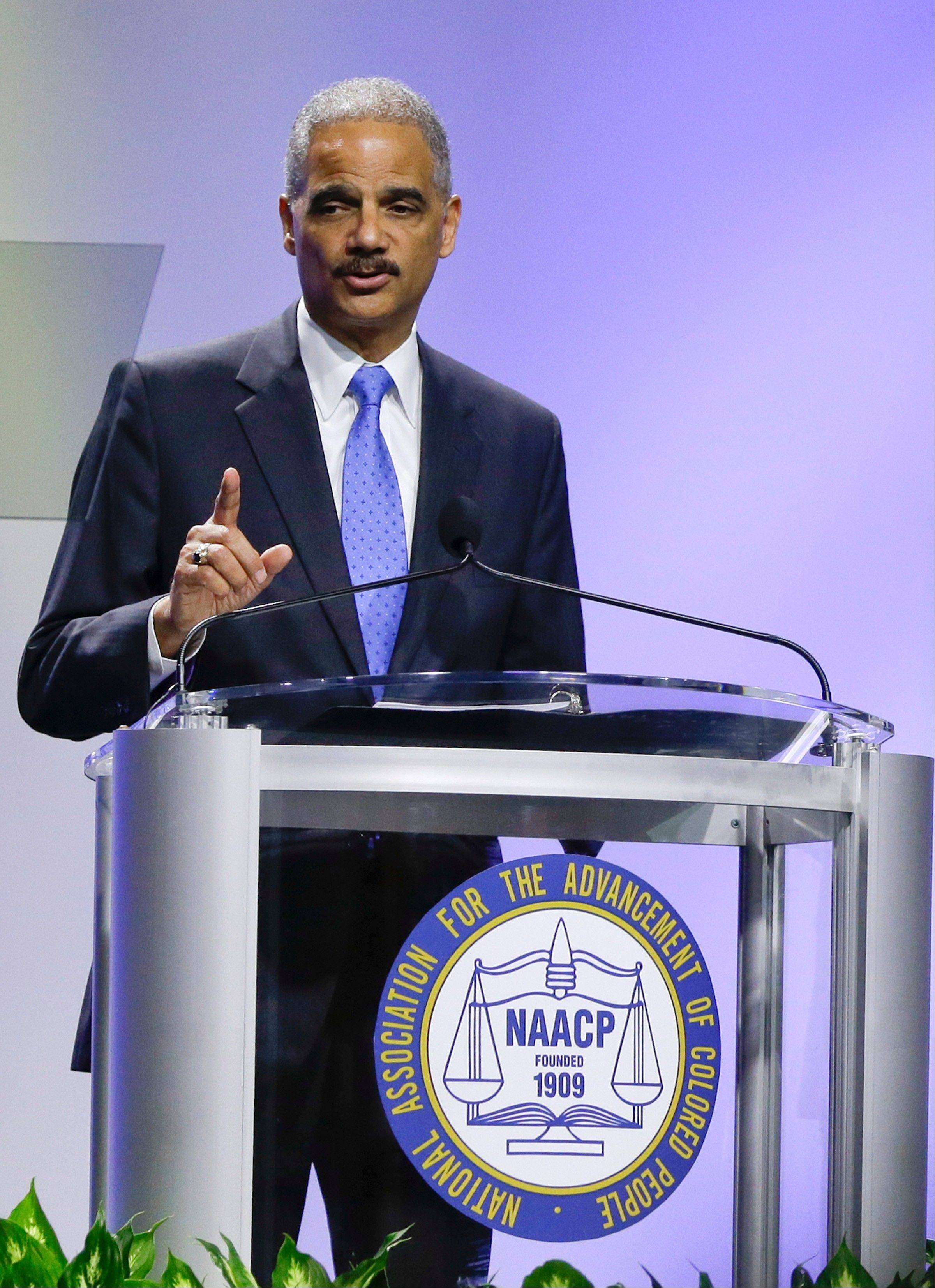 "Attorney General Eric Holder Jr. strongly condemned ""Stand Your Ground"" laws Tuesday, saying the measures ""senselessly expand the concept of self-defense"" and may encourage ""violent situations to escalate."""