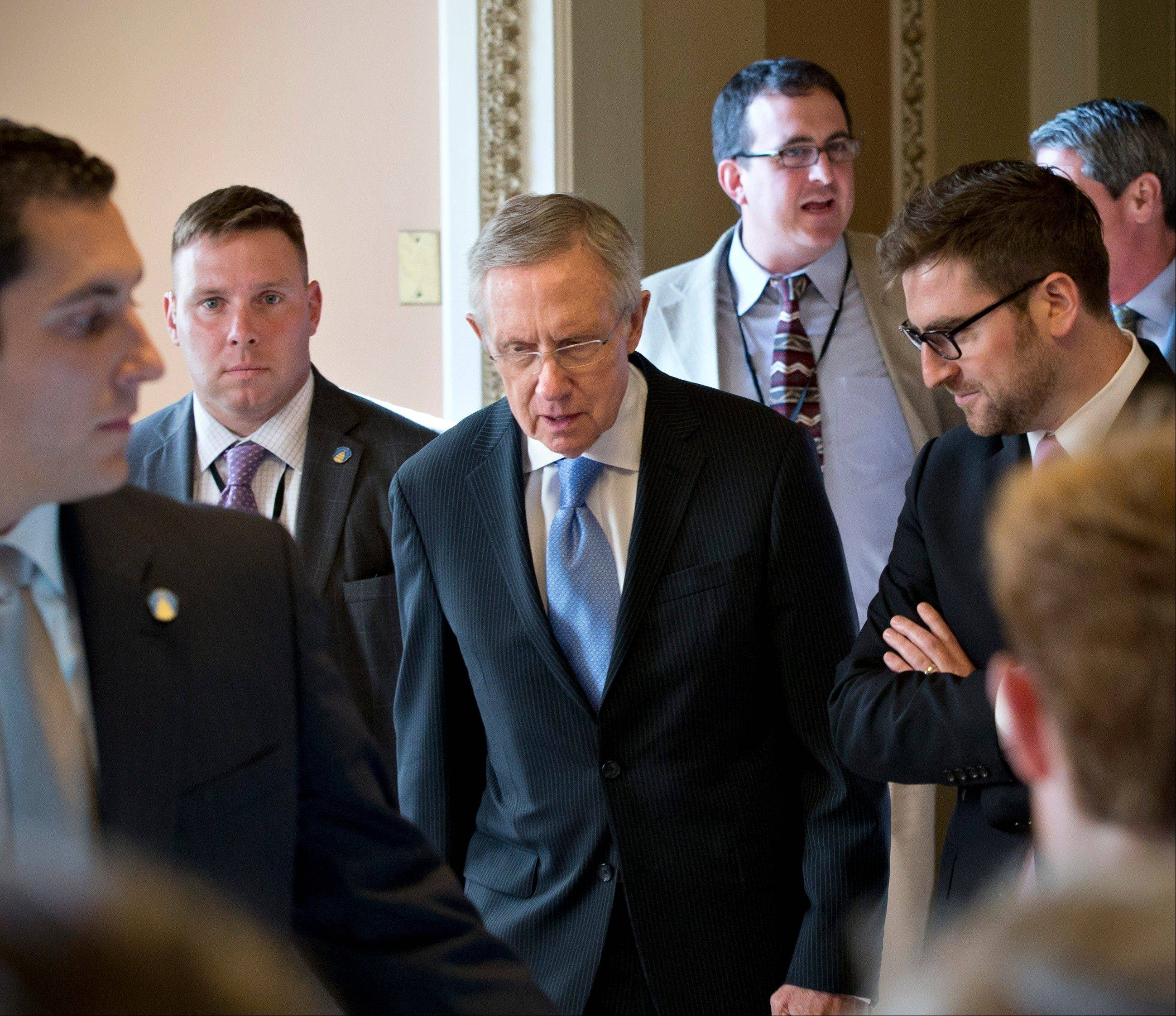 Threats by Senate Majority Leader Harry Reid to change the Senate�s long-standing filibuster rules apparently succeeded in winning a concession from Republicans, who appear willing to vote on several White House appointments.