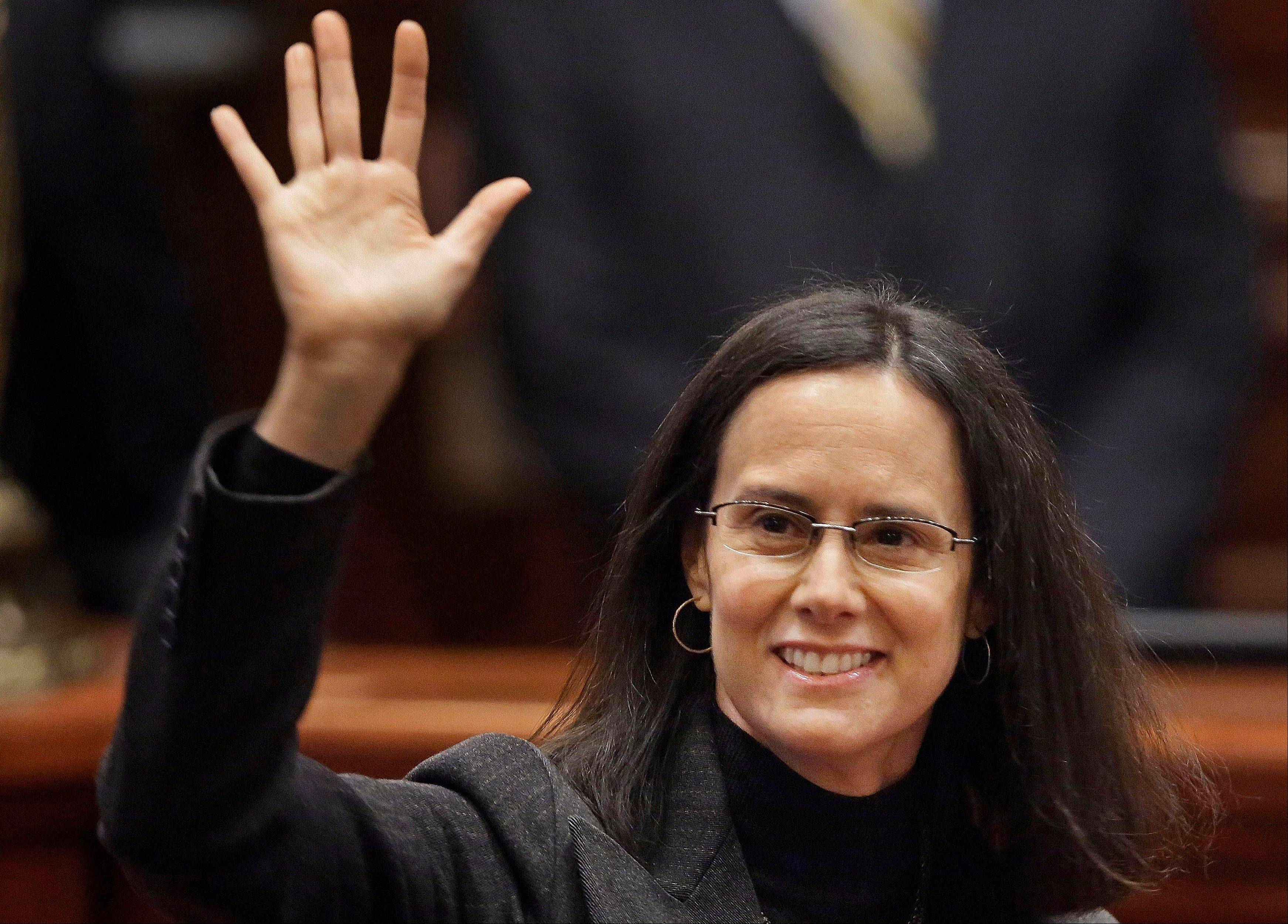 Illinois Attorney General Lisa Madigan said Monday that she will seek re-election rather than run for governor.