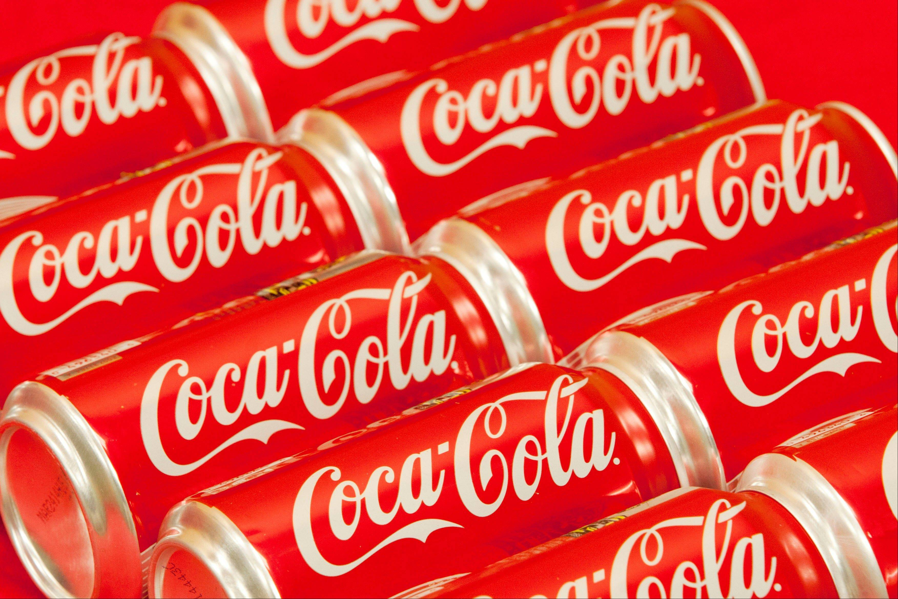 Coca-Cola Co. said profit fell 4 percent last quarter, the second decline in a row, as sales were sapped by economic weakness in China and Europe, shifting tastes in the U.S. and unseasonable weather in places such as India.