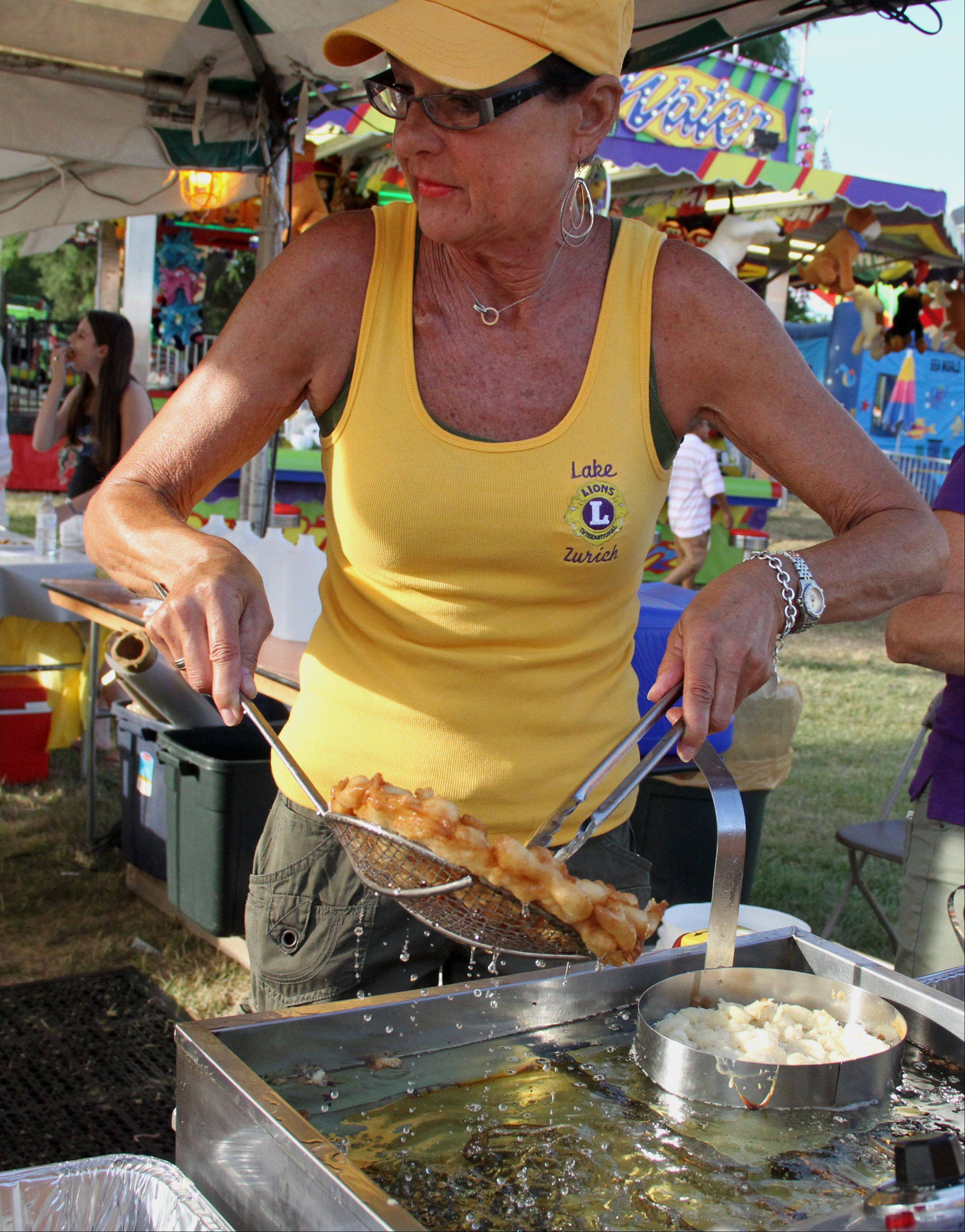 Funnel cakes, such as these, are part of the Lake Zurich Lions Club's Alpine Fest.