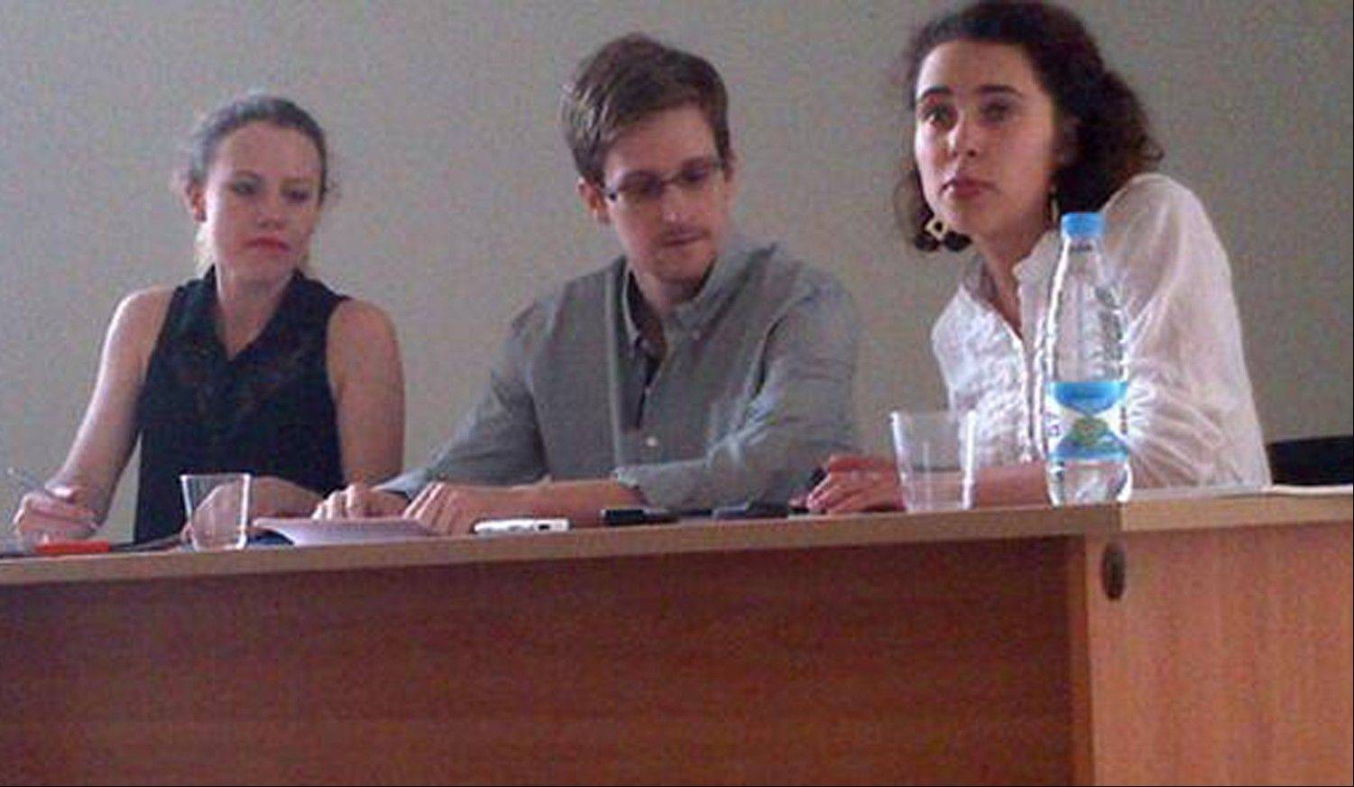 National Security Agency leaker Edward Snowden has asked for a temporary asylum in Russia.