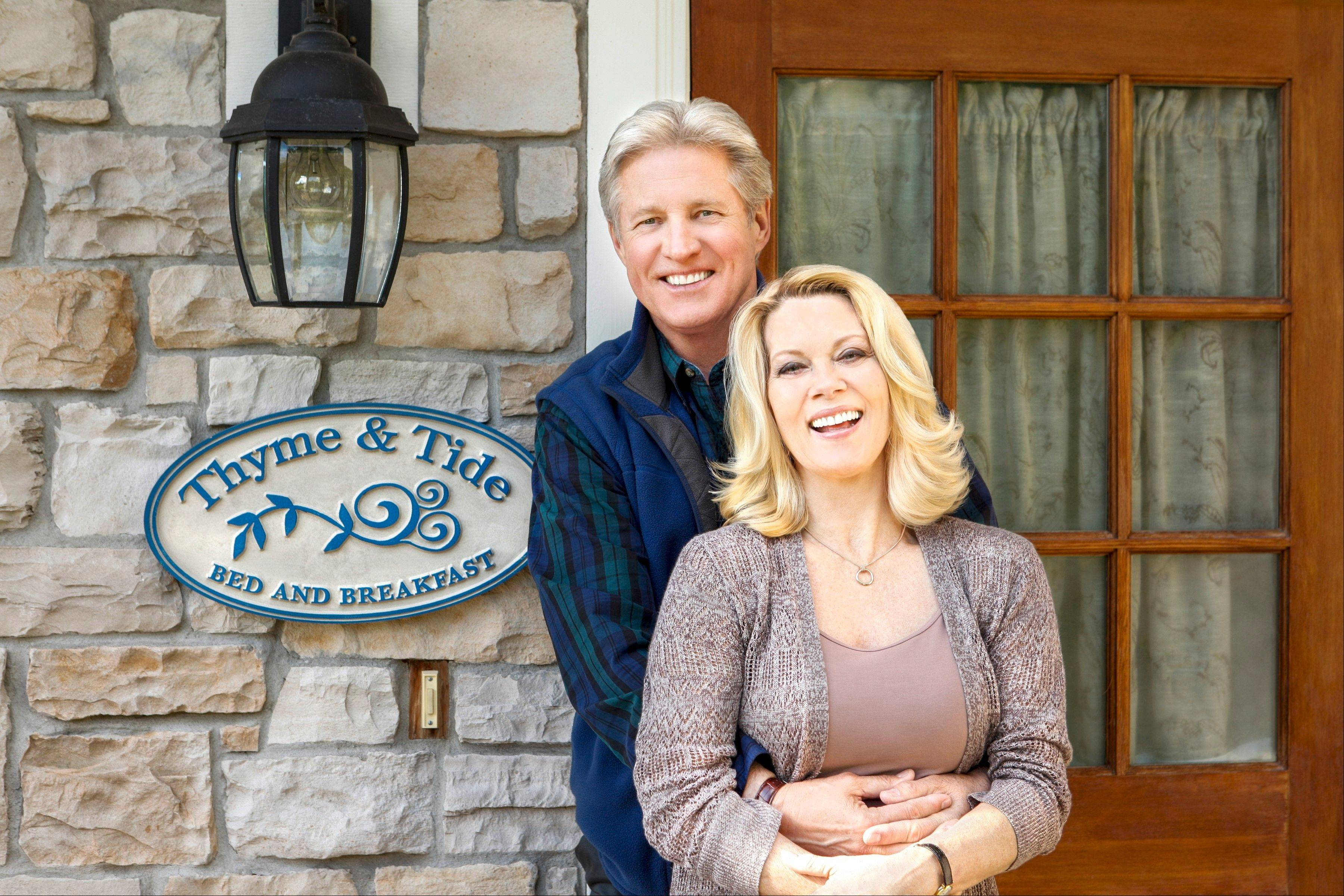 "Suburban native Bruce Boxleitner co-stars with Barbara Niven as the co-owner of a bed and breakfast in a new Hallmark Channel series ""Debbie Macomber's Cedar Cove."""