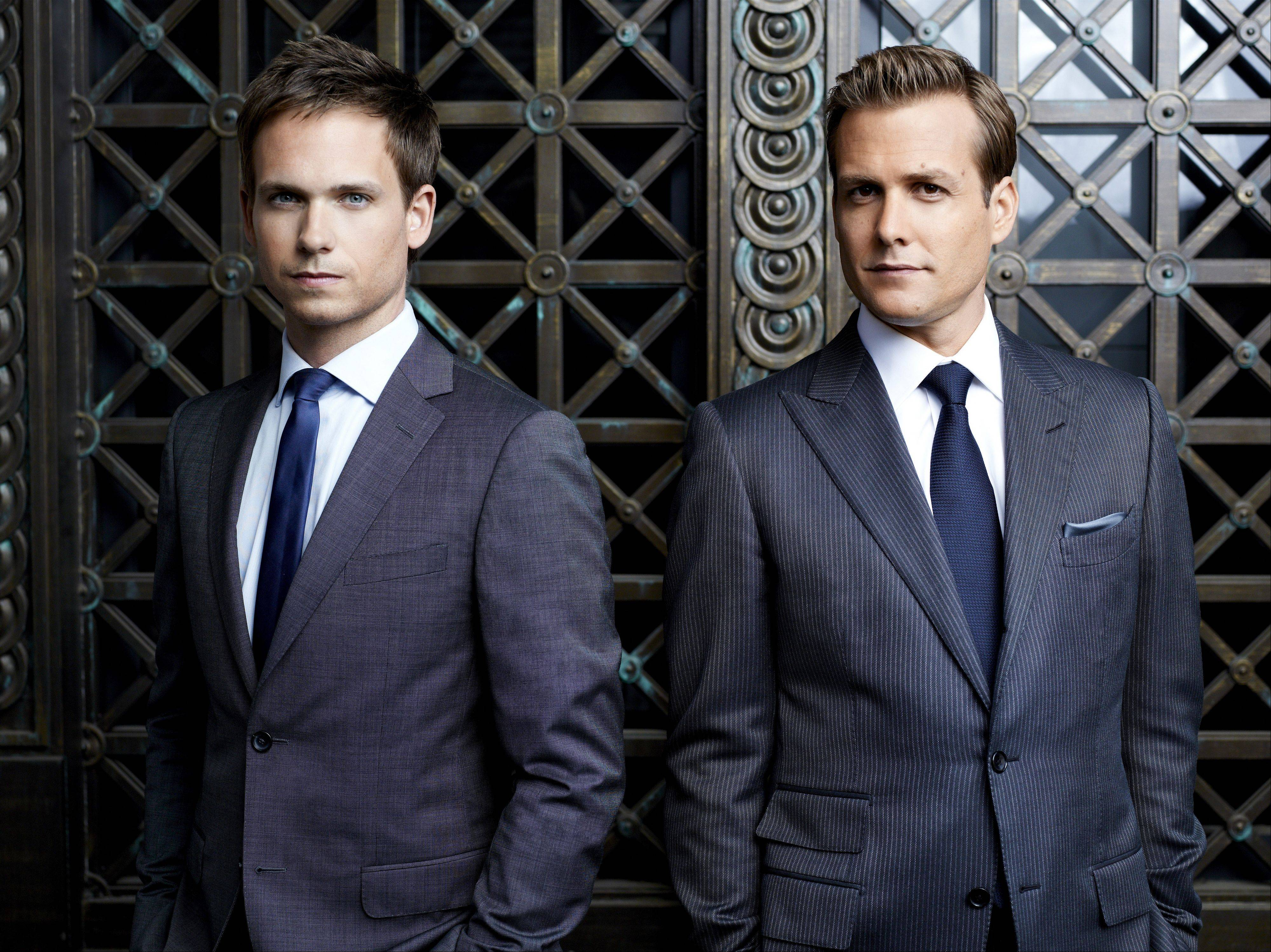 "Patrick J. Adams and Gabriel Macht are back in the new season of ""Suits"" on USA — and now you can catch up on older episodes with your iOS device."