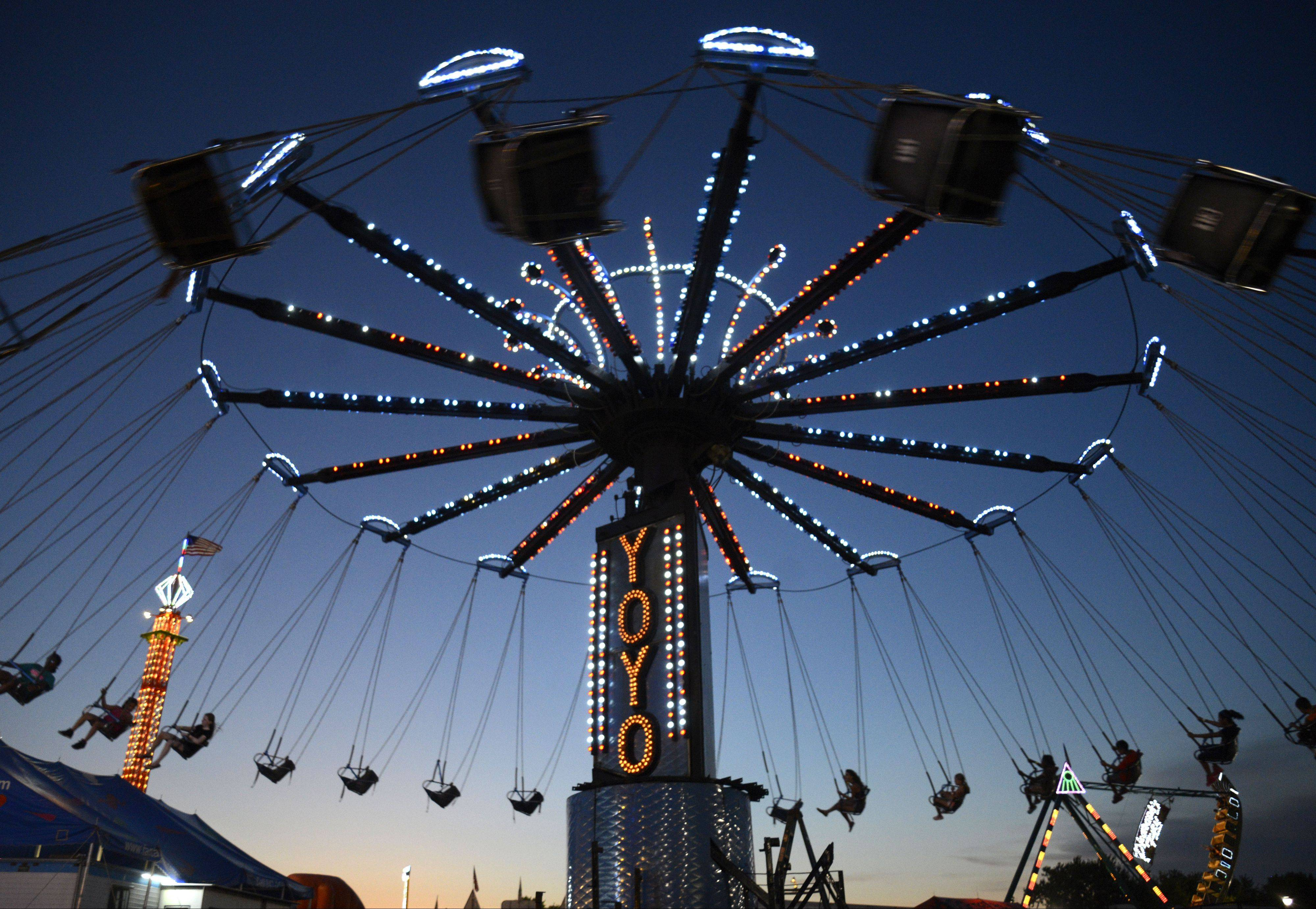 The Kane County Fair opens at the Kane County Fair Grounds in St. Charles on Wednesday. Discounted ride wristbands, coupons for entrance fees and other promotions are available on the fair�s $START_URL$website;http://kanecountyfair.com/$STOP_URL$.