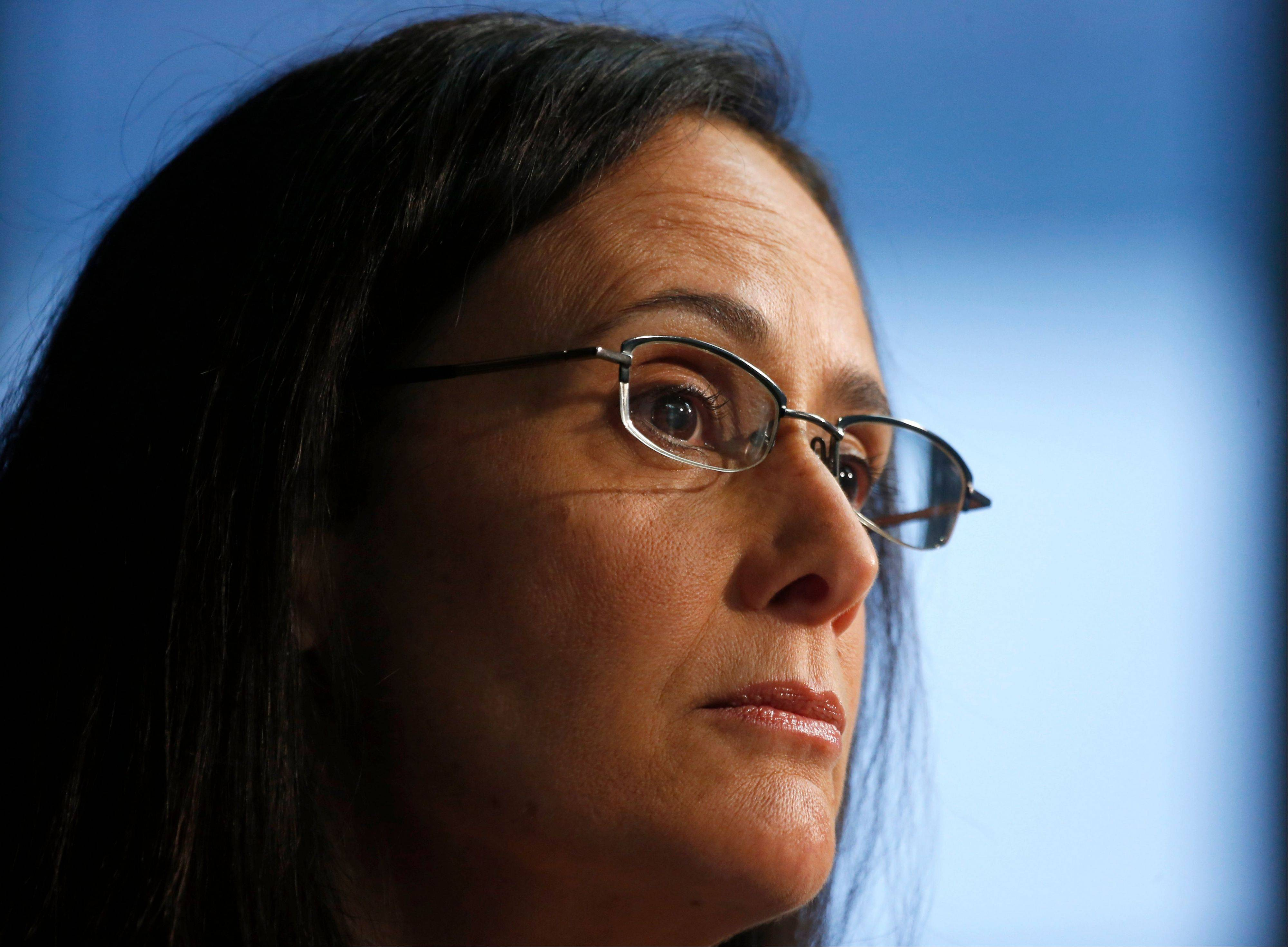 Illinois Attorney General Lisa Madigan at a news conference Wednesday declined to discuss what conversations, if any, she had with her politically powerful father before deciding not to run for governor.