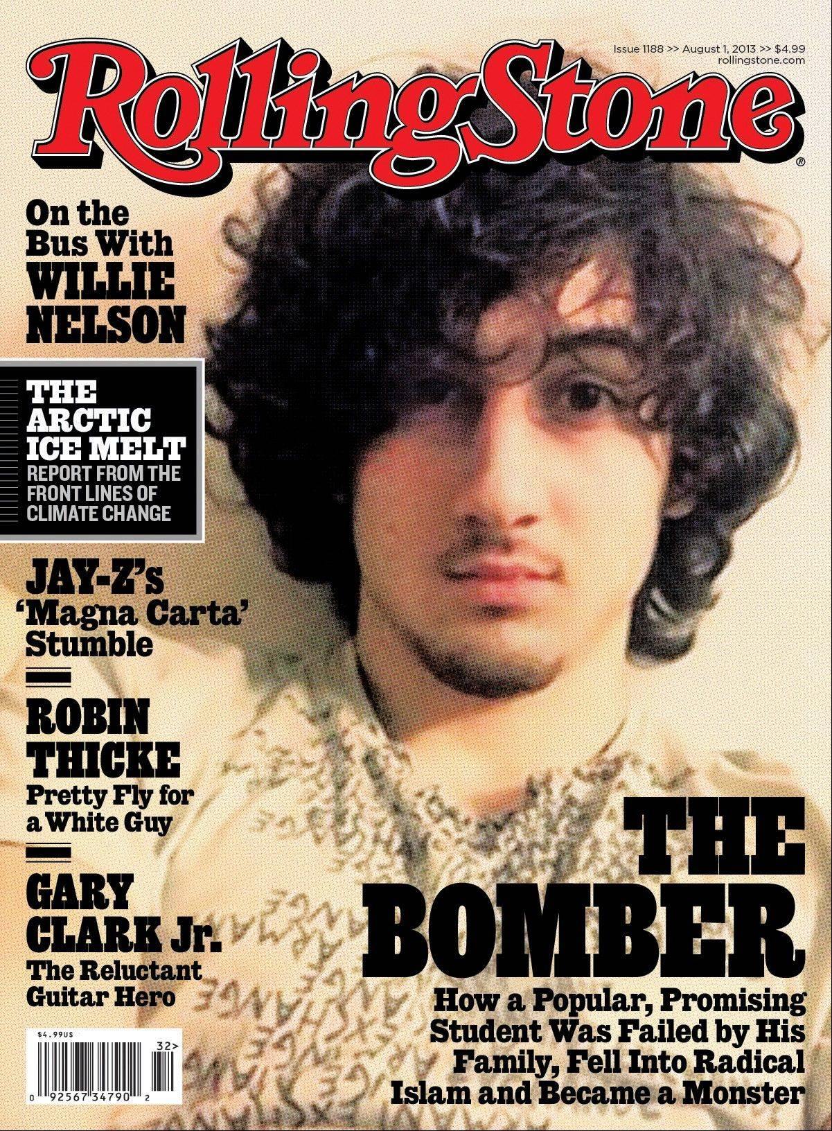 In this magazine cover image released by Wenner Media, Boston Marathon bombing suspect Dzhokhar Tsarnaev appears on the cover of the Aug. 1, 2013 issue of �Rolling Stone.�