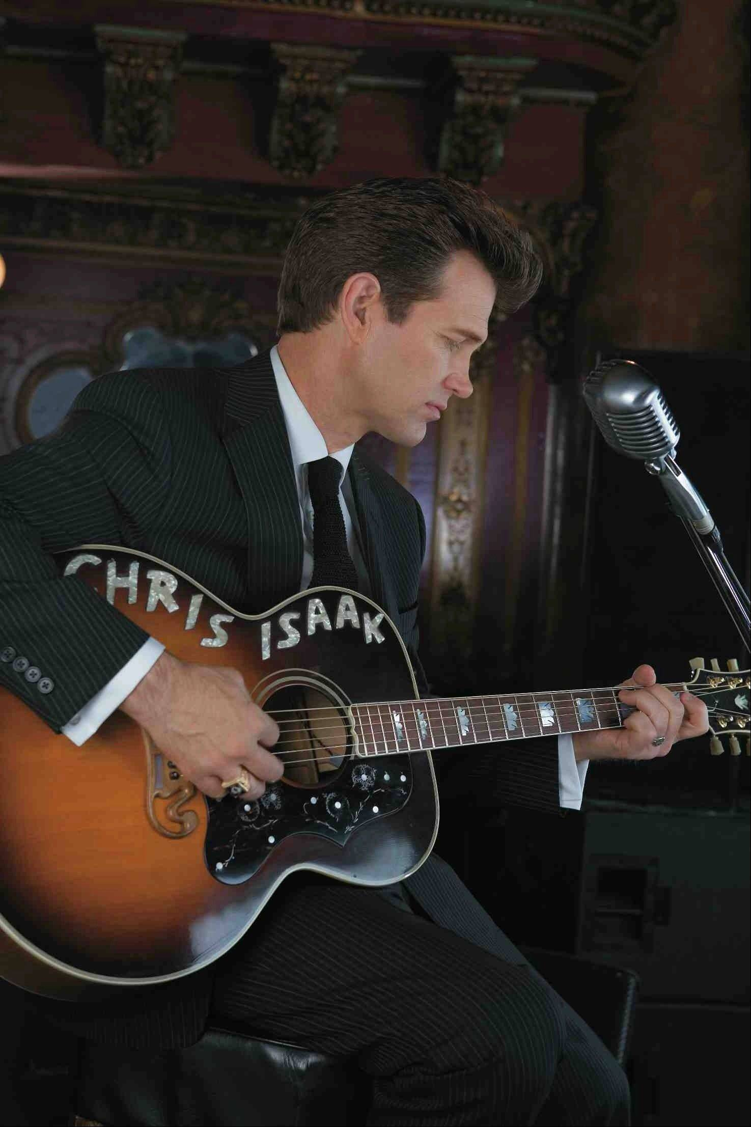 Chris Isaak headlines the Arcada Theatre in St. Charles on Friday, July 19.