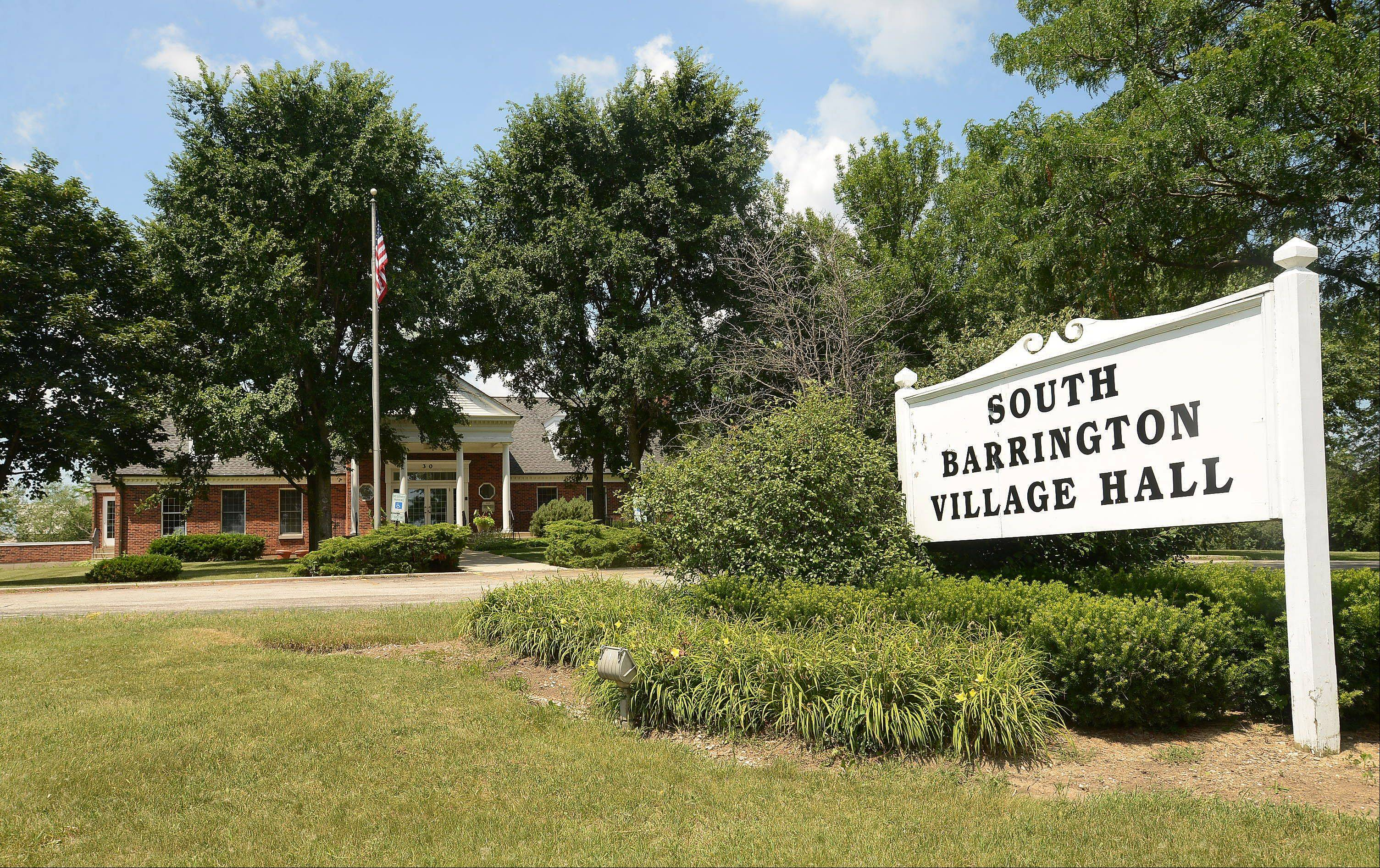 South Barrington is prepared to approve a $2.08 million construction contract Thursday for the expansion of village hall. The work would begin in August and finish in March 2014.