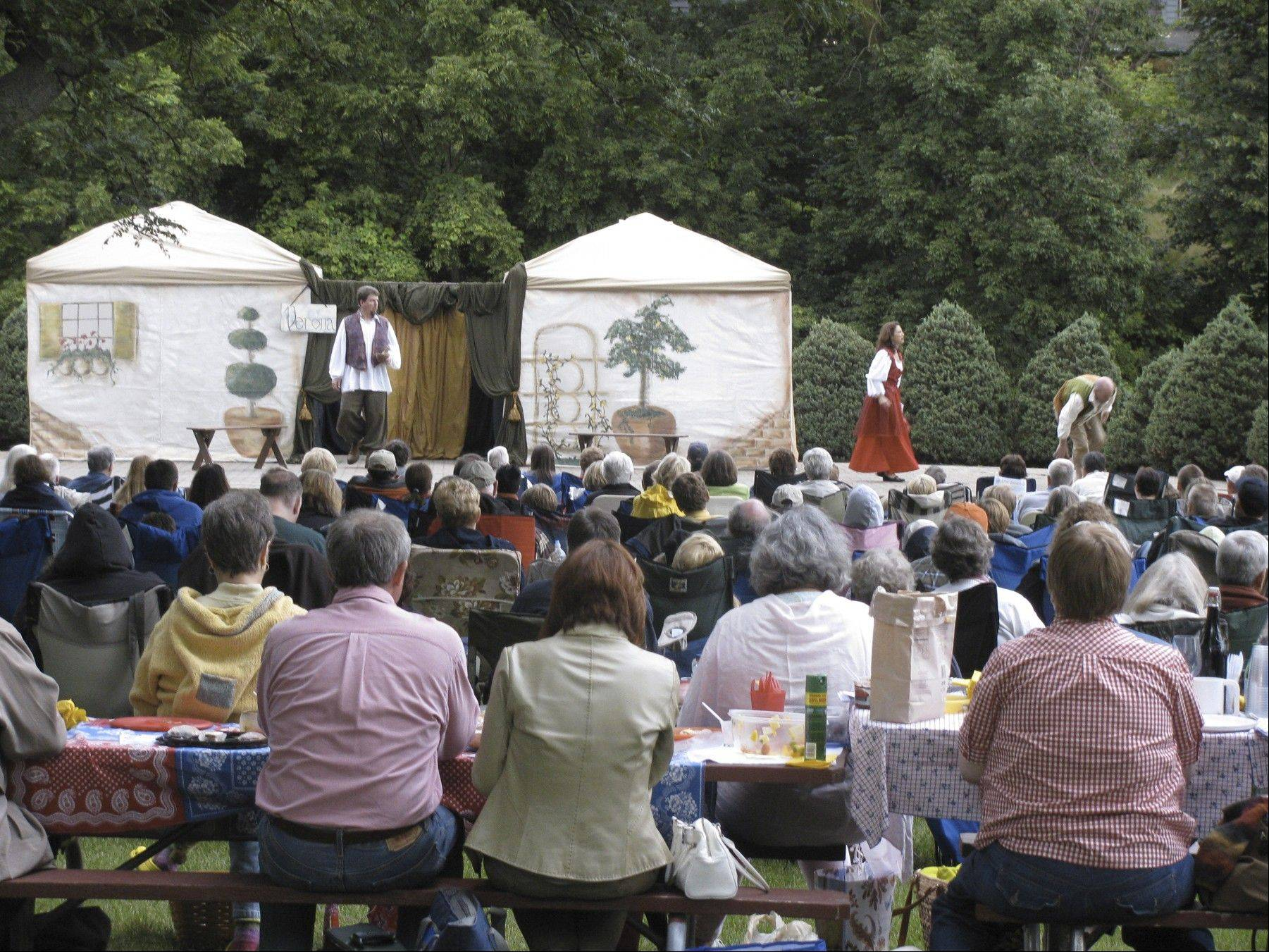 A previous Shakespeare in the Park performance drew more than 500 people to Geneva's Island Park.