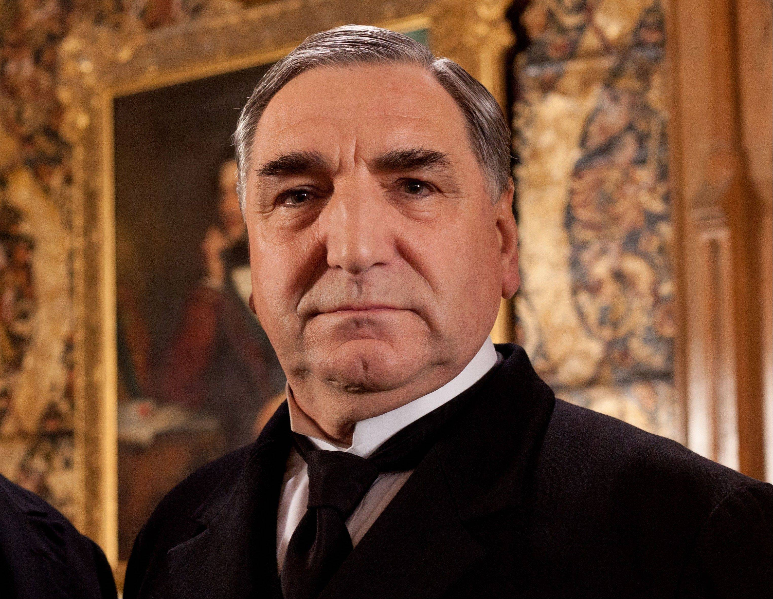 "Jim Carter was nominated for an Emmy Award for best supporting actor in a drama series for his role as Mr. Carson in ""Downton Abbey."""