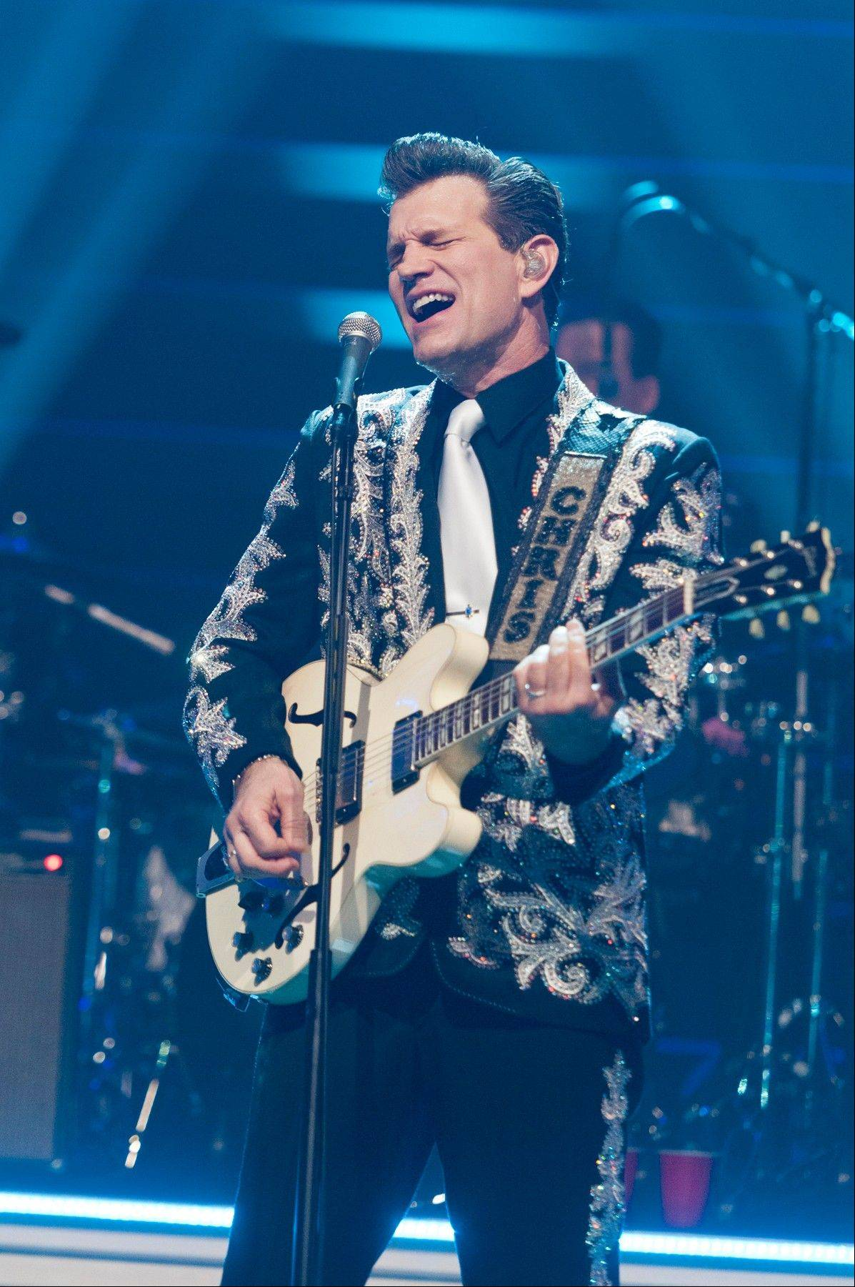 Musician Chris Isaak is performing at the Arcada Theatre in St. Charles on Friday.