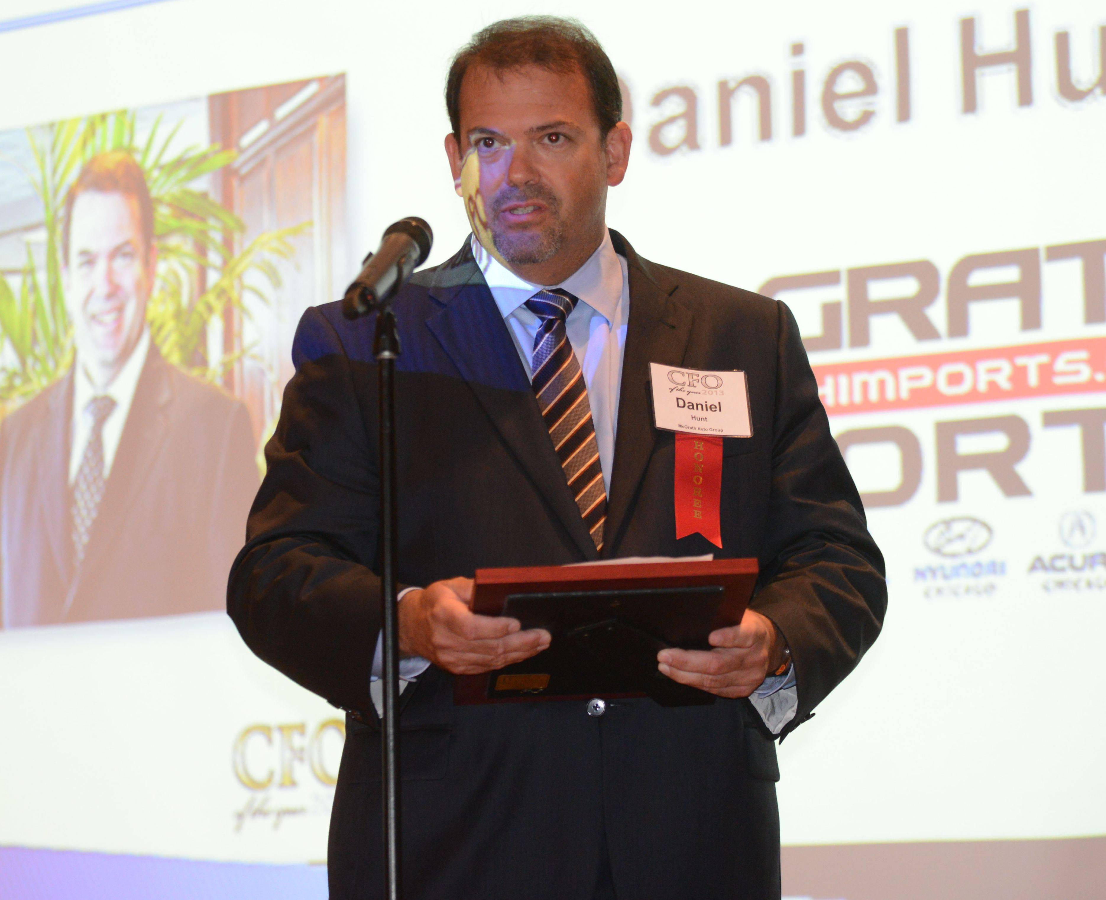 Daniel Hunt of the McGrath Auto Group, Westmont