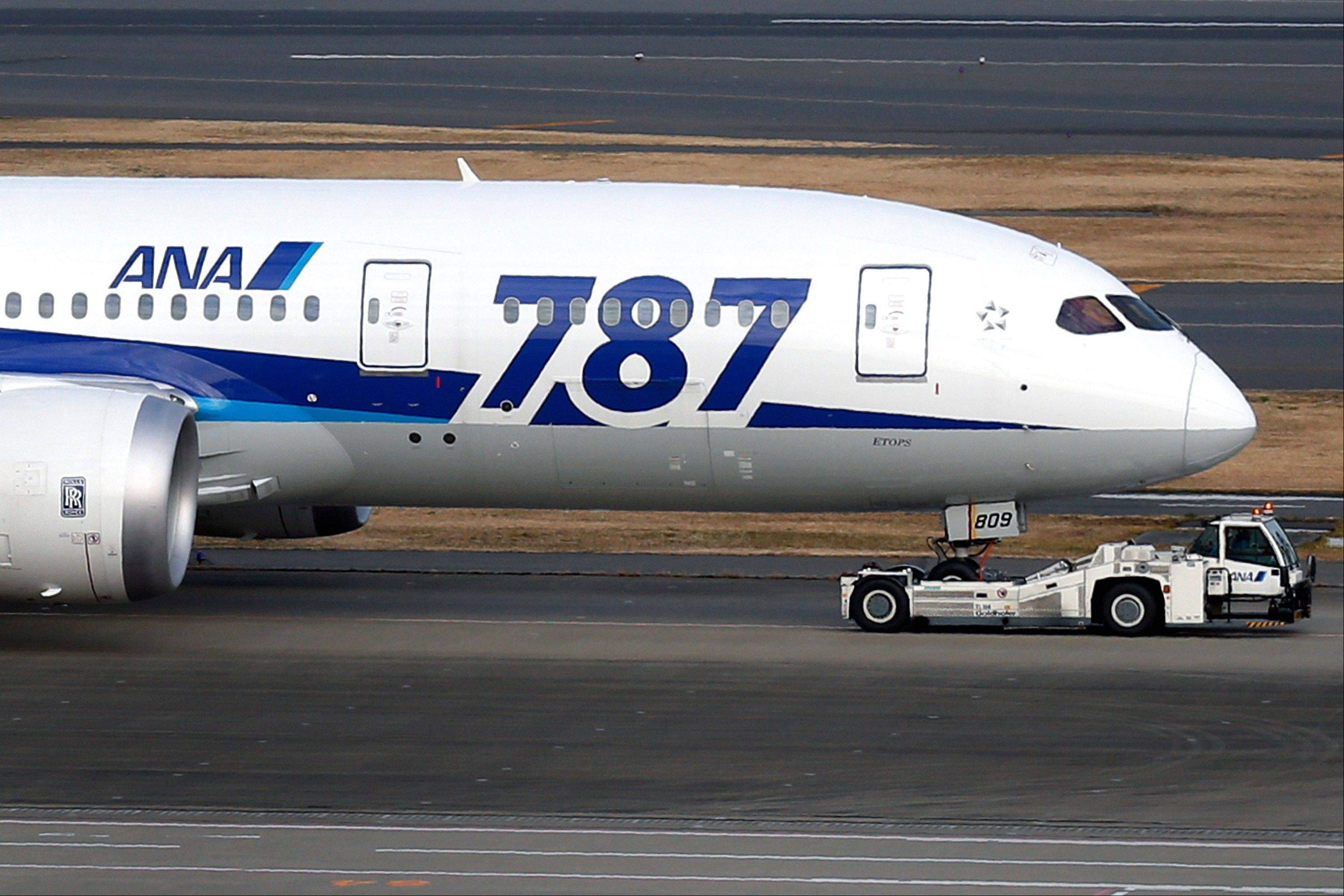 A Boeing Co. 787 Dreamliner aircraft operated by All Nippon Airways Co. (ANA) taxies at Haneda Airport in Tokyo, Japan.
