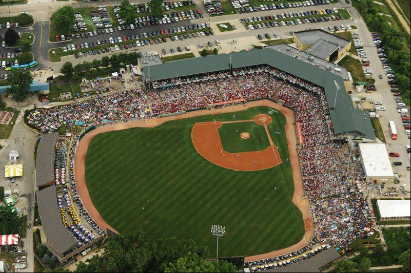 The Kane County Cougars are expected to welcome their 10 millionth fan Saturday at Fifth Third Bank Ballpark in Geneva