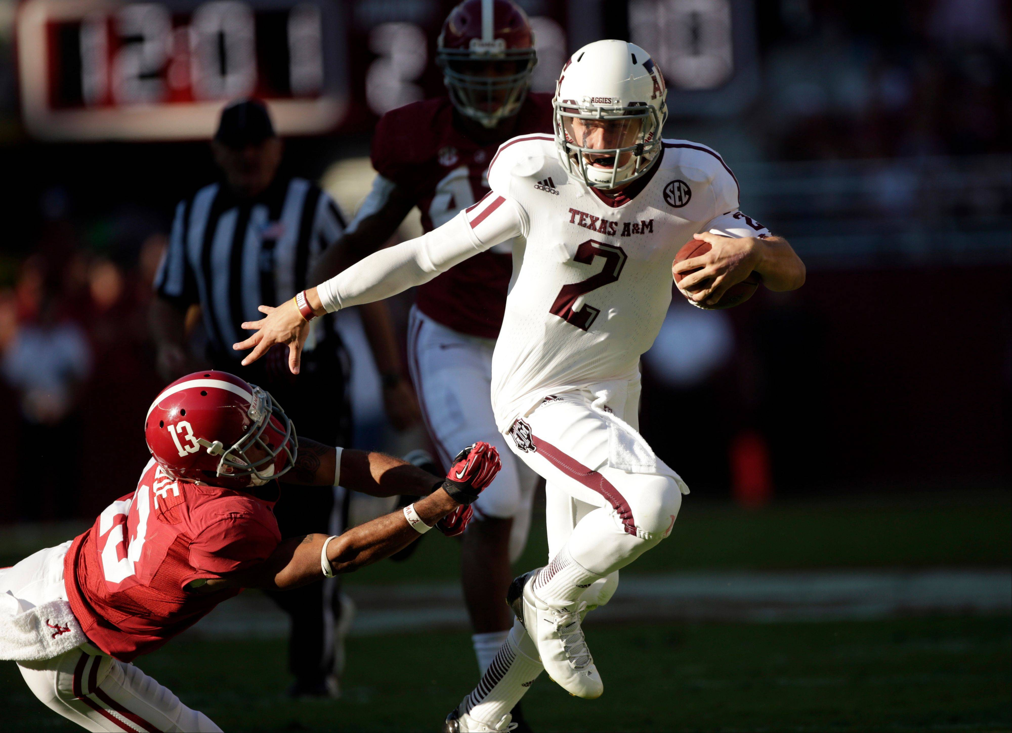 Texas A&M quarterback and Heisman Trophy winner Johnny Manziel has been in the news lately, and not for anything good.