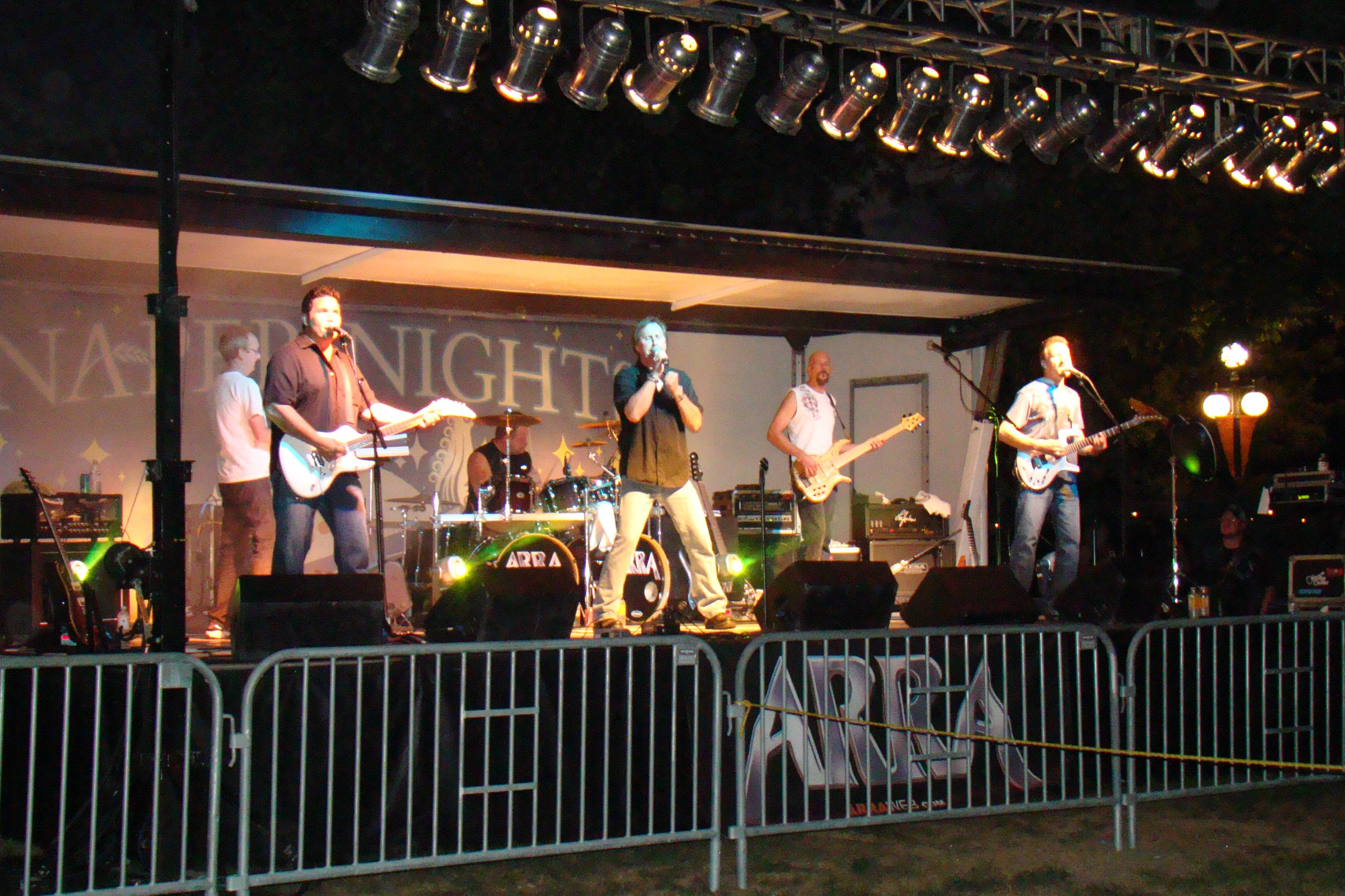 ARRA will perform at the Naper Nights Concert Series on Saturday, July 27.