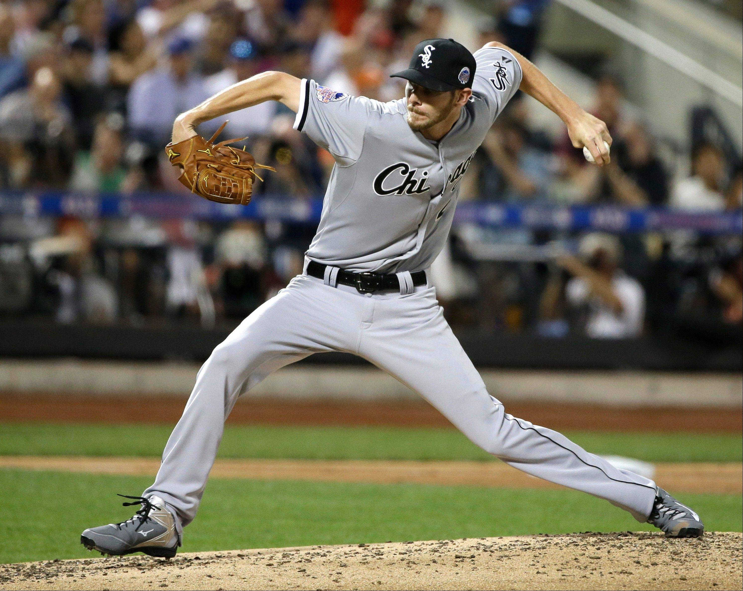 White Sox starting pitcher Chris Sale just has too much on the plus side for a trade to make sense.