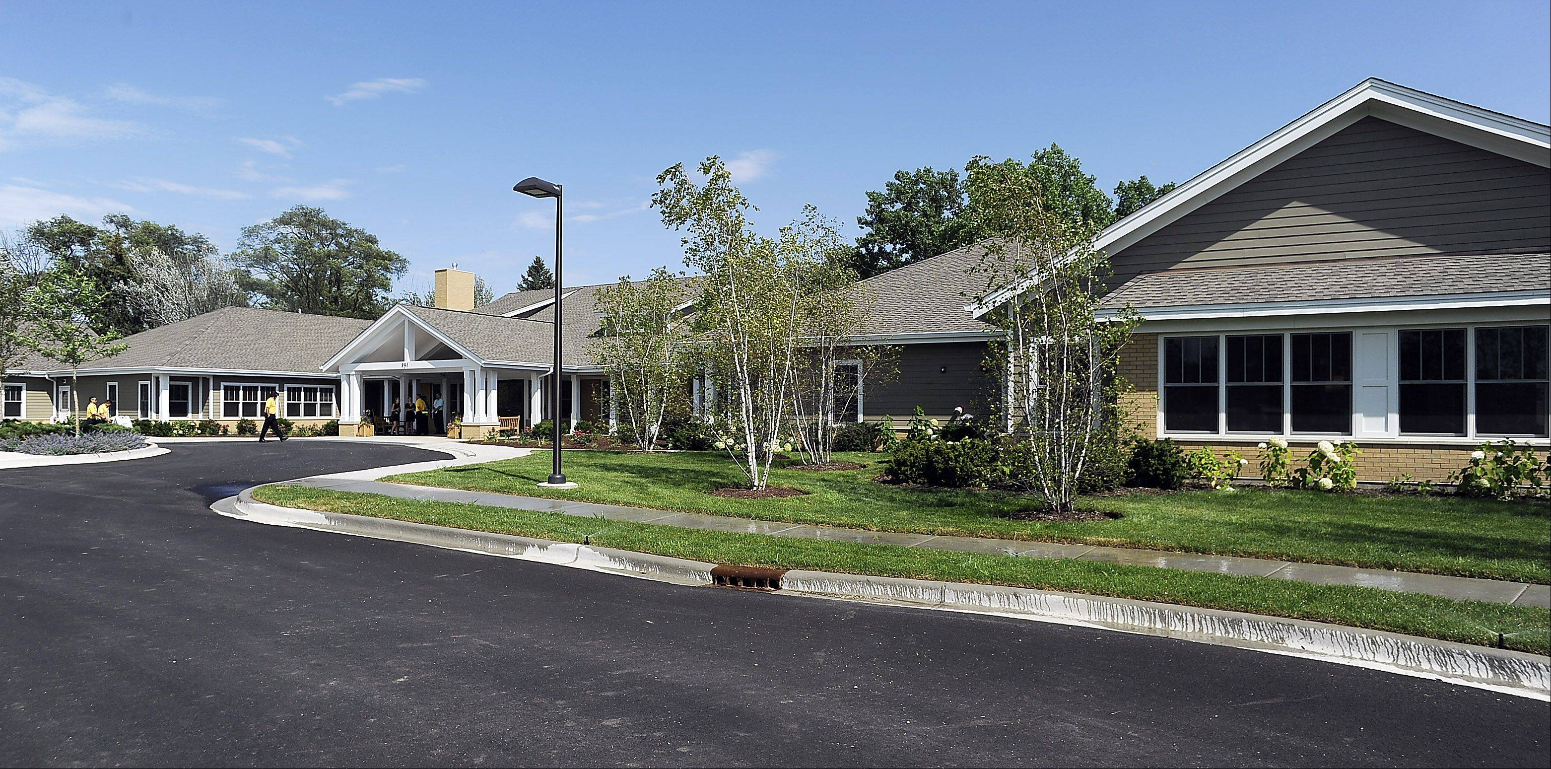 The ceremonial opening of the Alexian Brothers Hospice Residence in Elk Grove Village took place Friday.