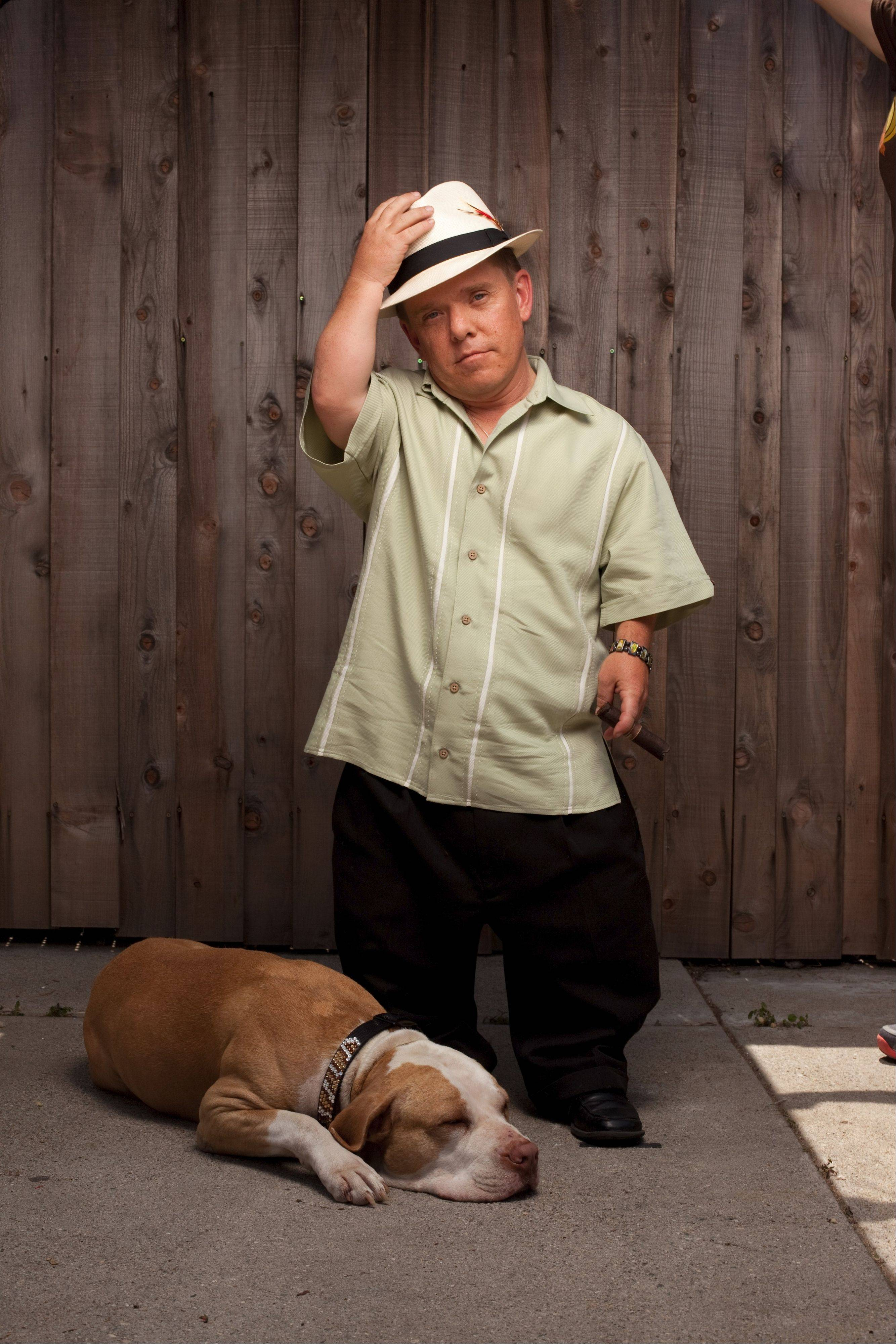 "Shorty Rossi and his dog Hercules of Animal Planet's ""Pit Boss"" show will greet fans at the Windy City Pet Expo in Villa Park."