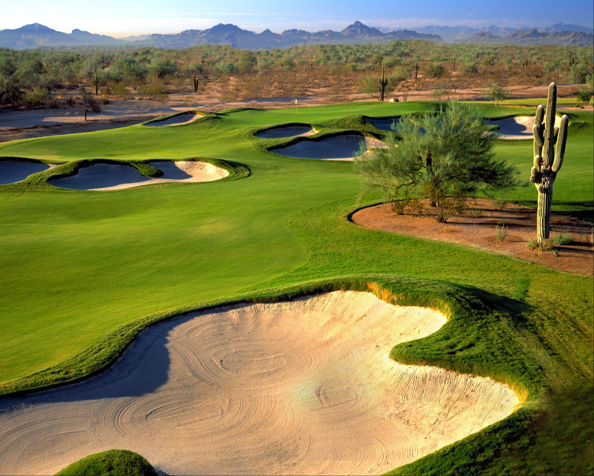 Twenty years ago, many Phoenix-area resorts shut down for the summer because of the heat, now substantial deals are offered that attract locals and tourists alike to places like the Wildfire Golf Club.