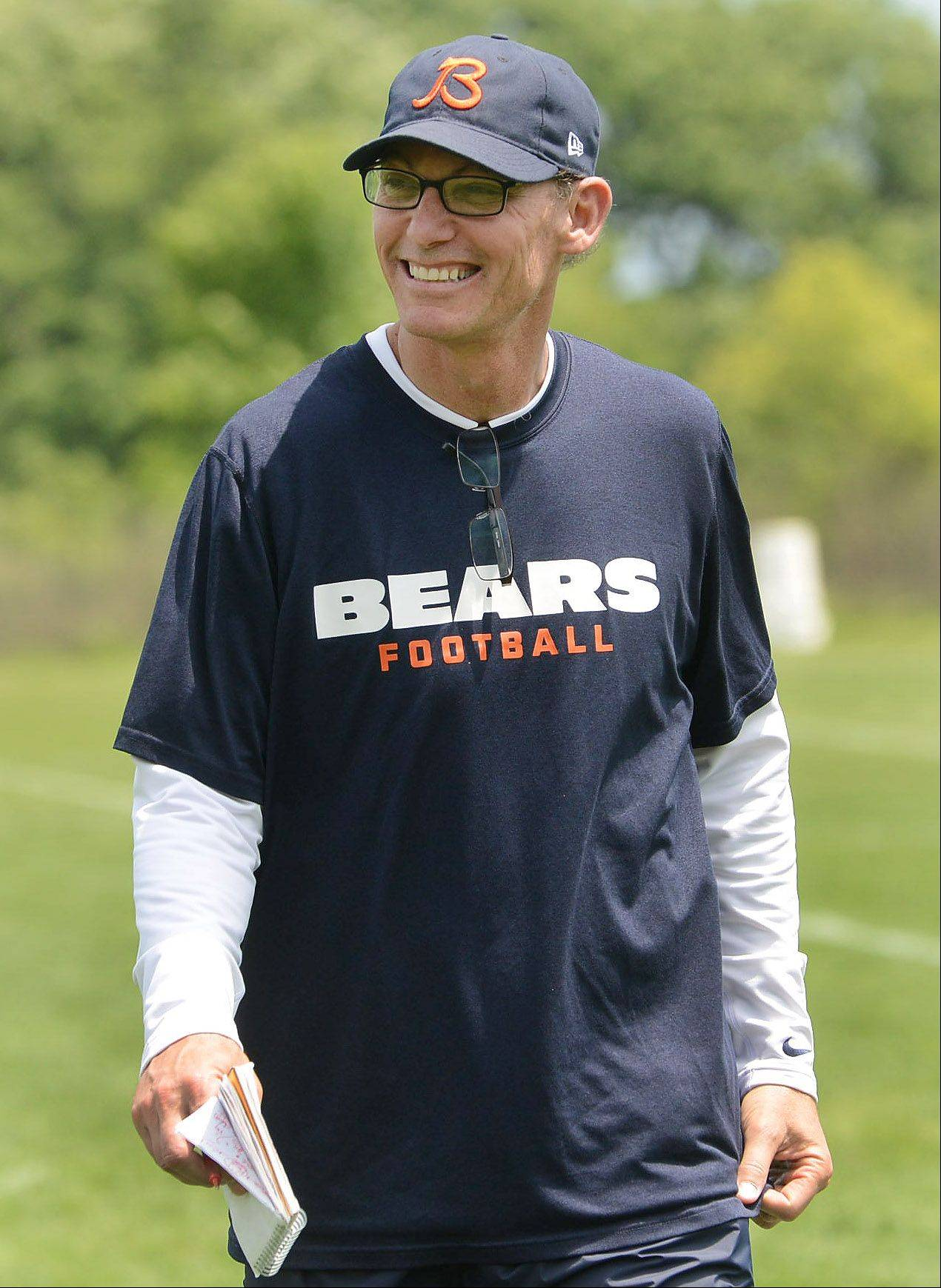 With the Bears finishing at 10-6 last season, Marc Trestman may be smiling now, but he won't have the usual grace period given to most new NFL coaches.