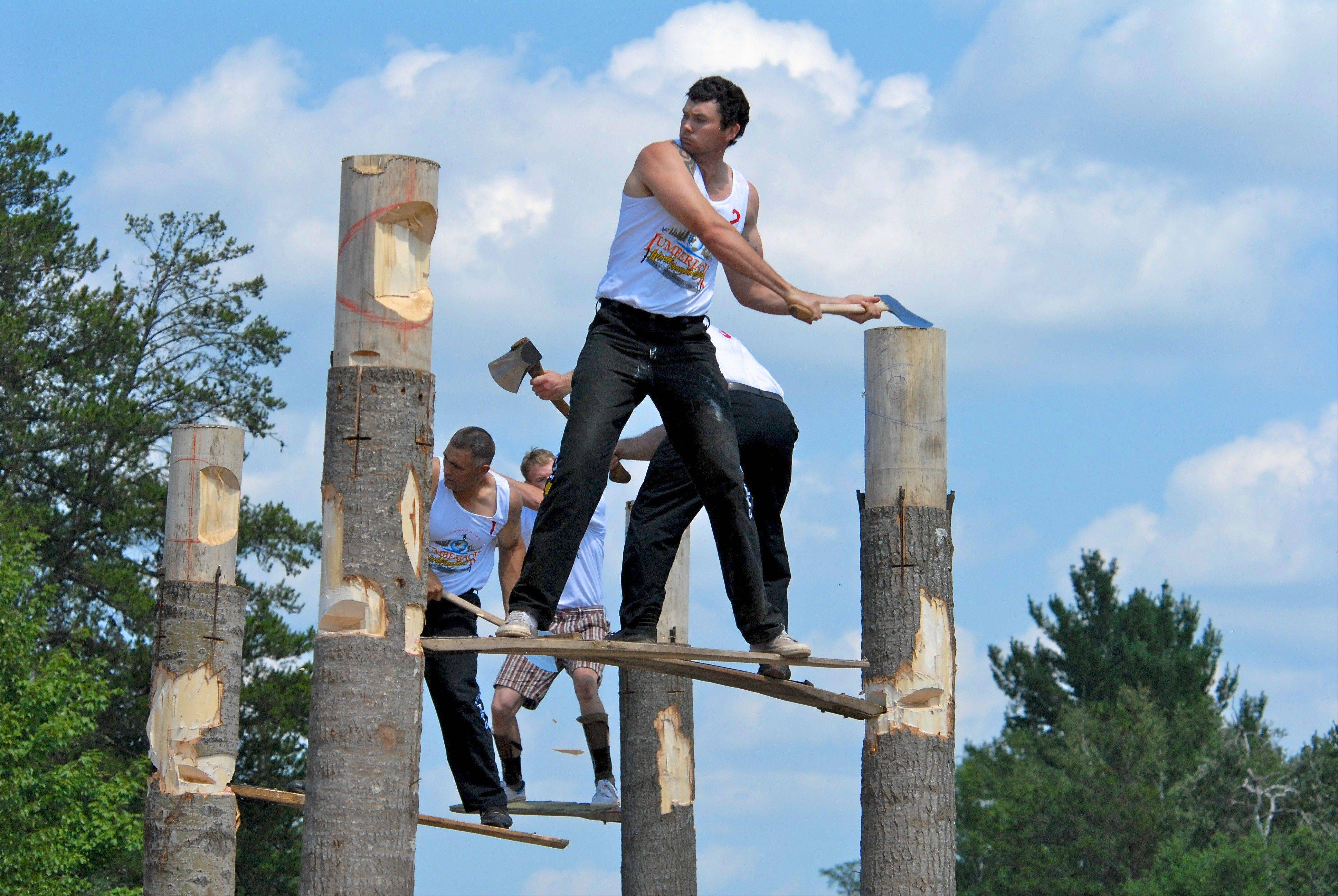 There's nothing like the Lumberjack World Championships in Hayward, Wis.