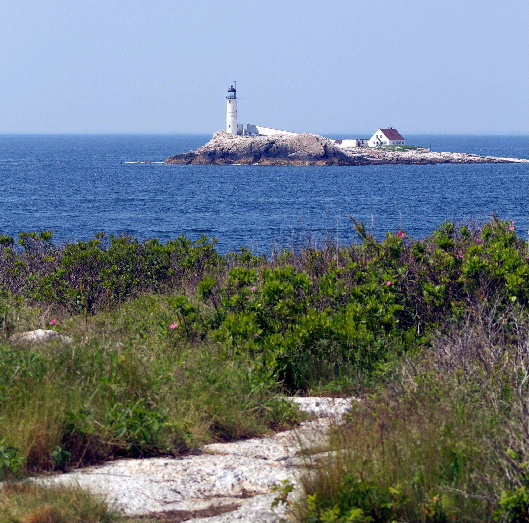 The lighthouse on White Island.
