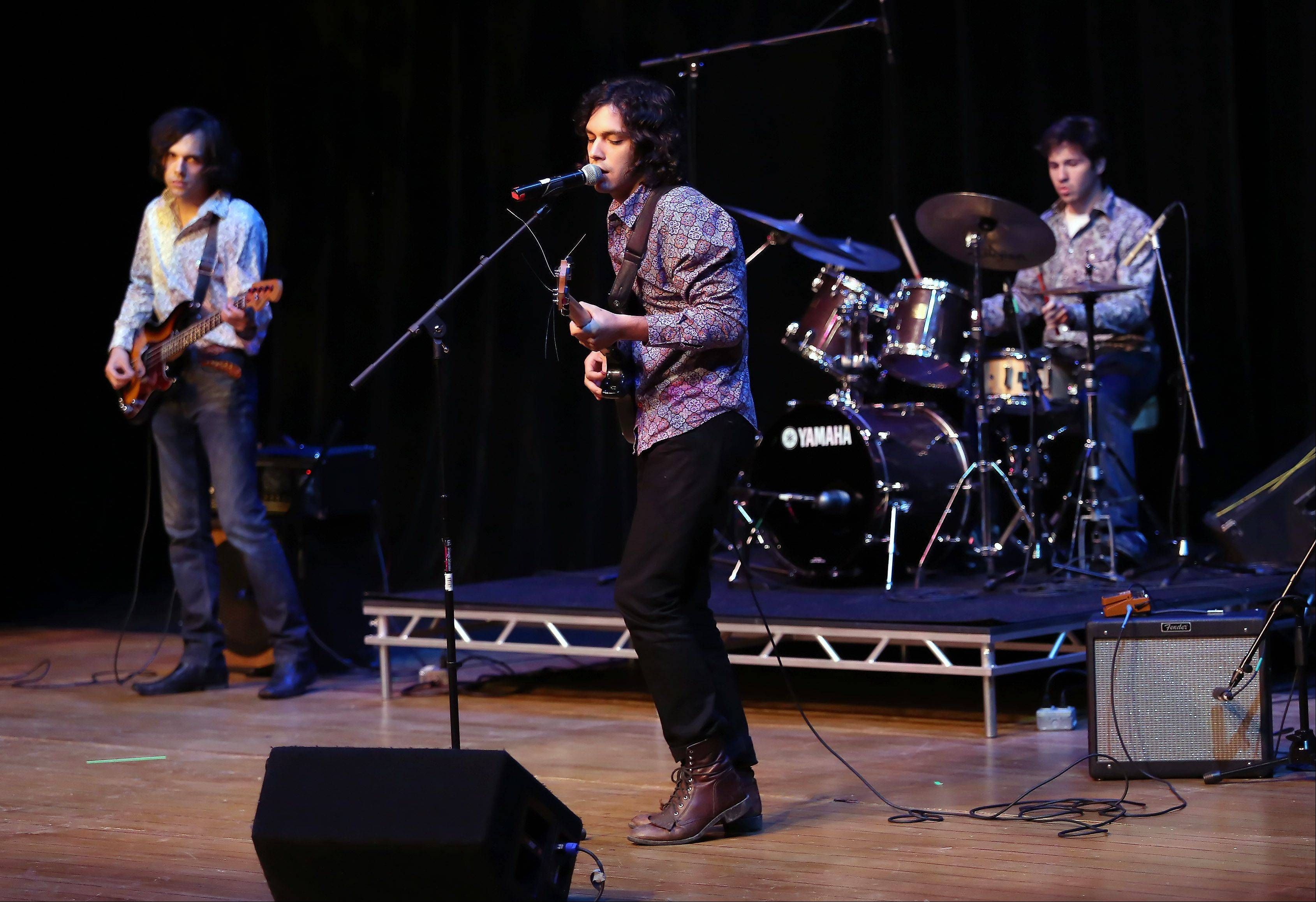 The band Viper Fever performs during Suburban Chicago's Got Talent competition Sunday night at the Metropolis Performing Arts Centre in Arlington Heights. The summer long talent contest is presented by the Daily Herald and sponsored by the Arlington Heights Chamber of Commerce.