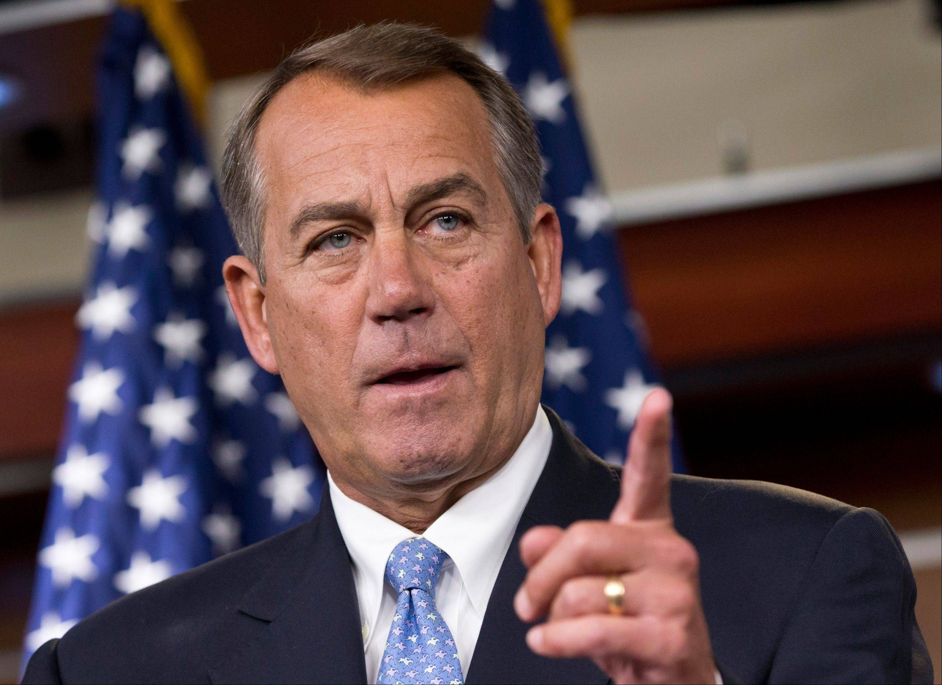 The GOP-led House of Representatives, led by Speaker of the House John Boehner, seen here, has tried 38 times to eliminate, defund or scale back the administration's health care reform law since Republicans took control of the chamber in January 2011.