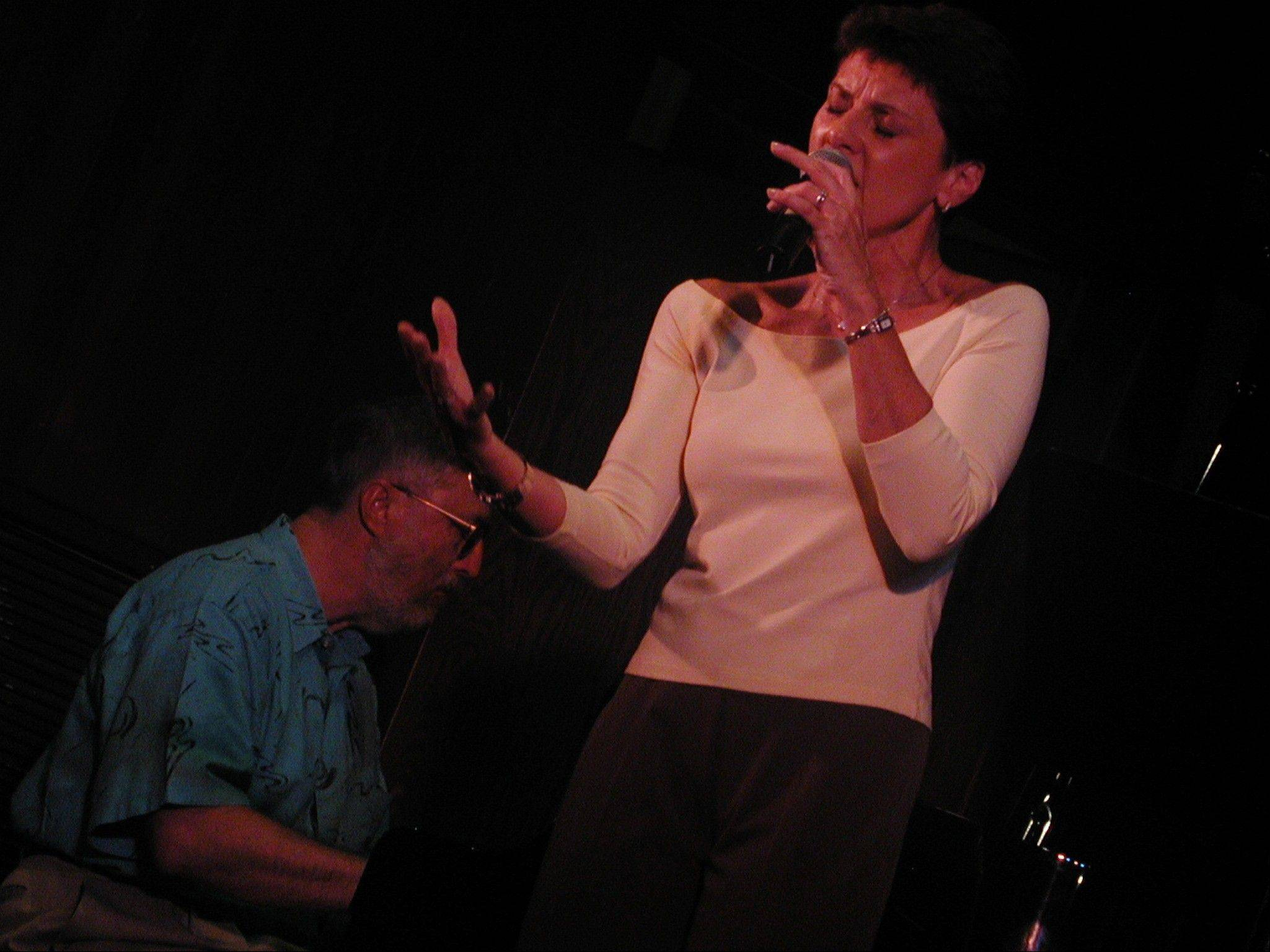 "Janice Borla is one of the featured vocalists during the ""Hot Jazz -- 6 Cool Nites"" concert series at Naperville's North Central College."