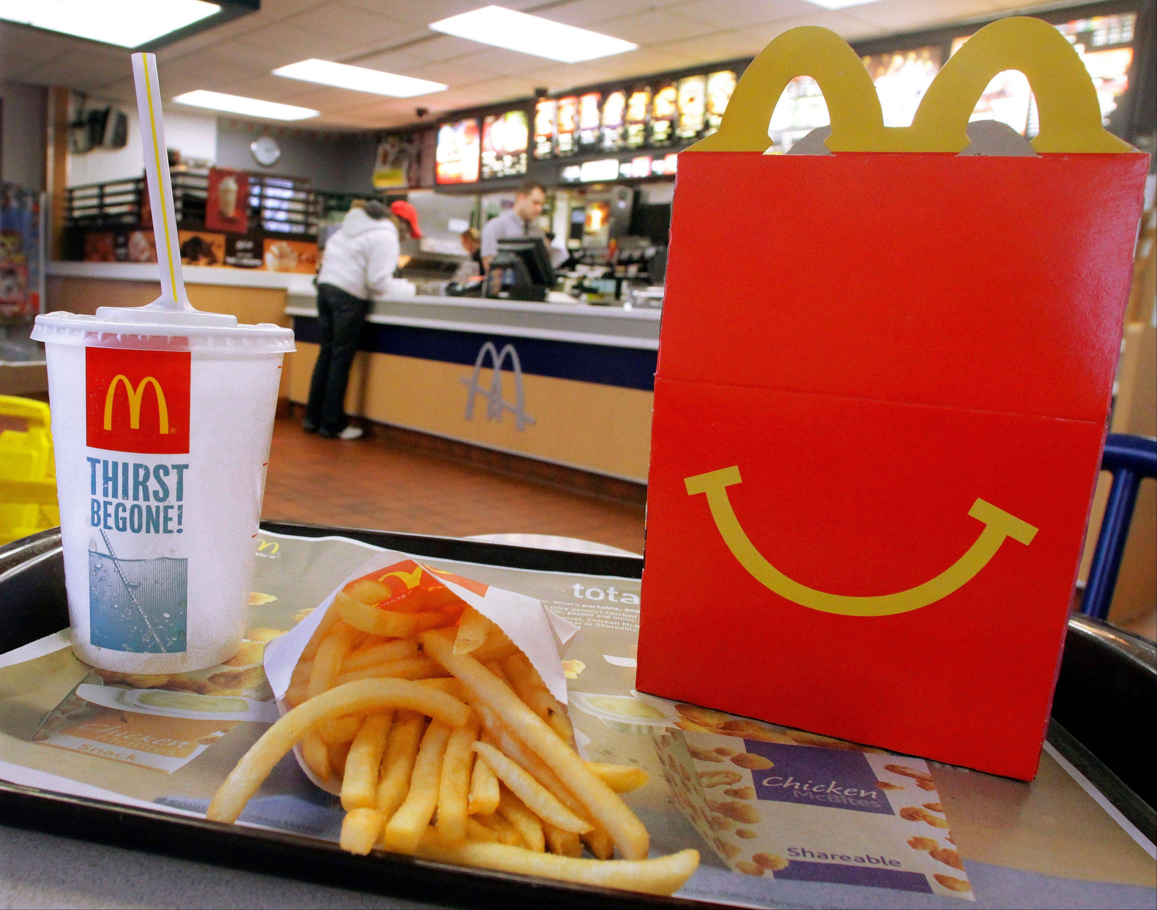 Oak Brook-based McDonald�s Corp. reported a second-quarter profit that fell shy of expectations and warned of a tough year ahead.