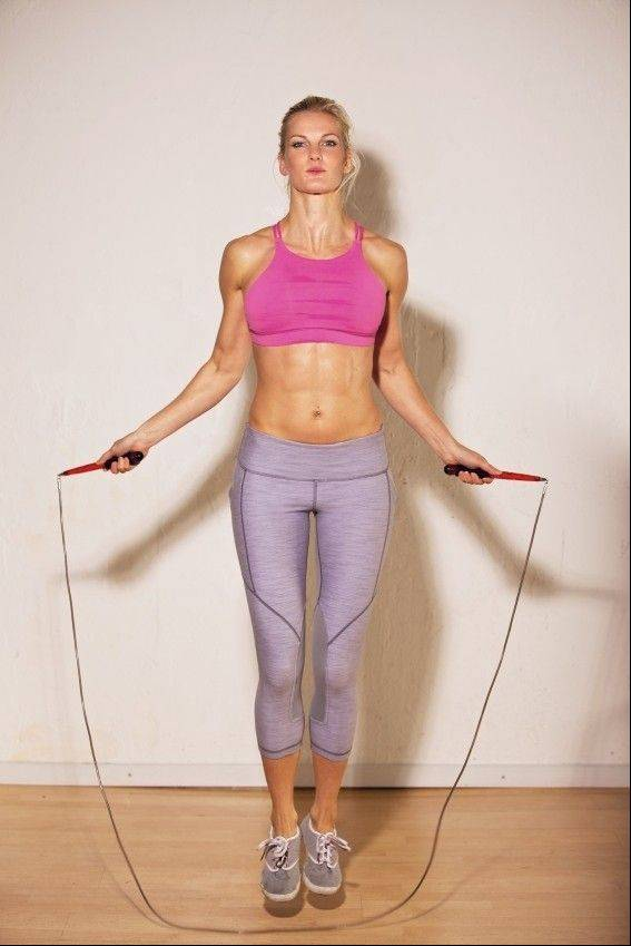 It's important to make sure the jump rope you use is the right fit to ensure a safe workout.
