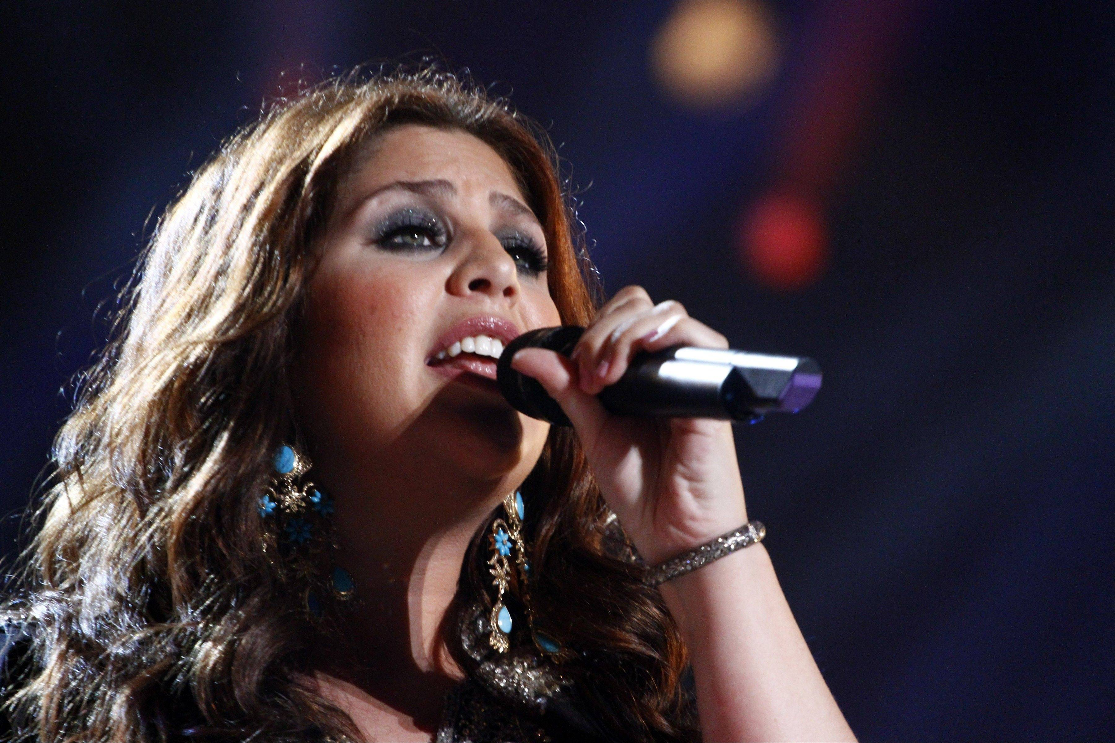 Hillary Scott�s representative confirms the country singer gave birth to Eisele Kaye Tyrrell on Monday in Nashville.