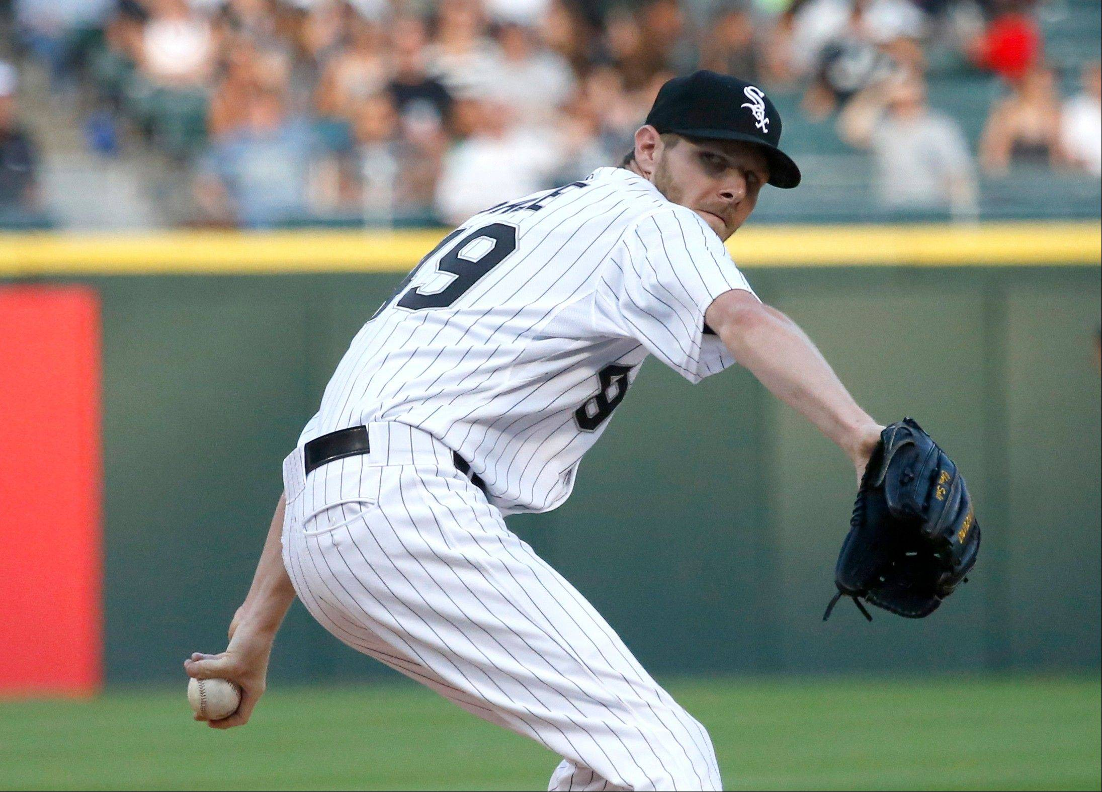 White Sox starting pitcher Chris Sale was not happy about having to issue an intentional walk to the Tigers' Miguel Cabrera in Monday night's loss.