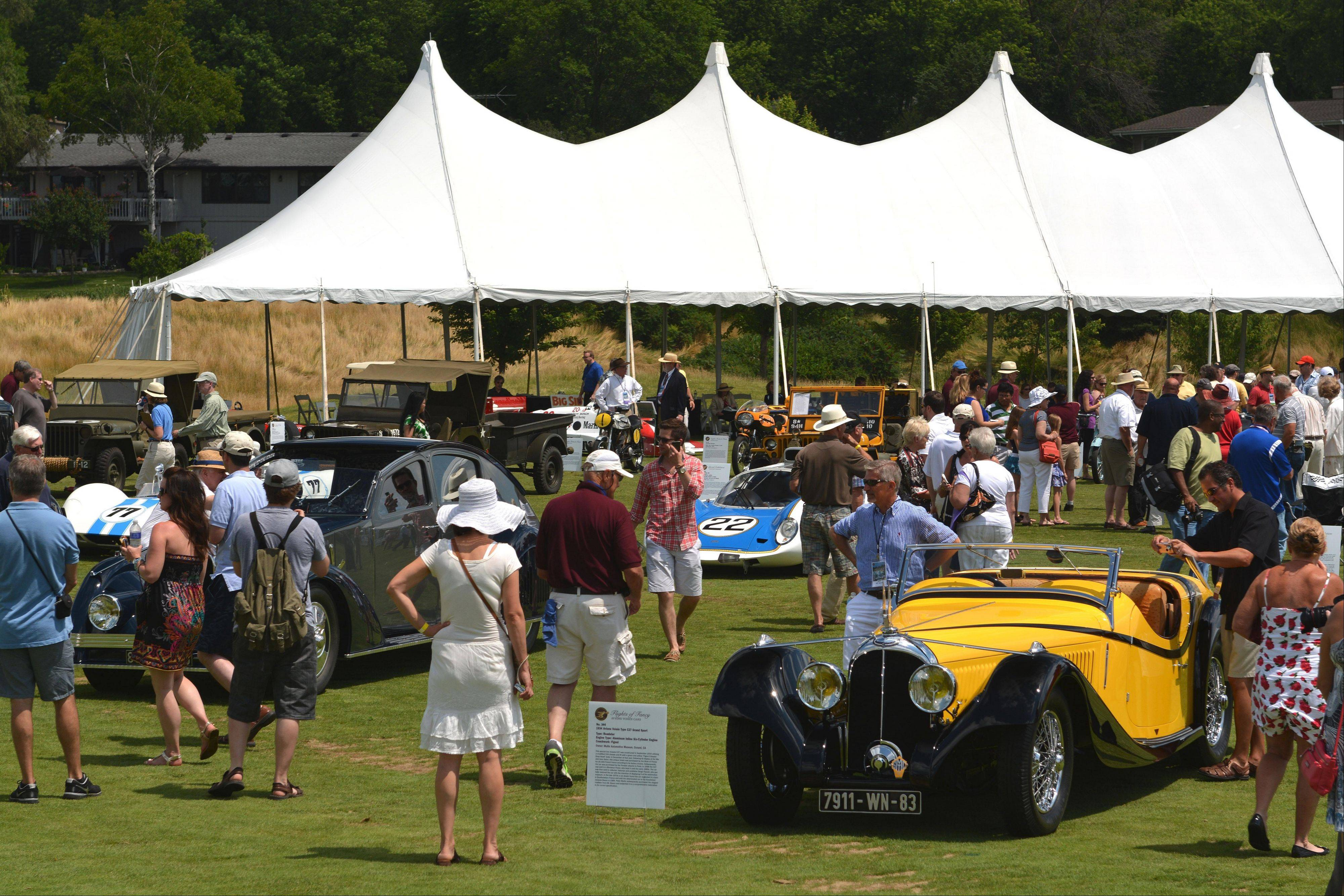 The seventh Barrington Concours D'Elegance was held July 14 at Makray Memorial Golf Club.
