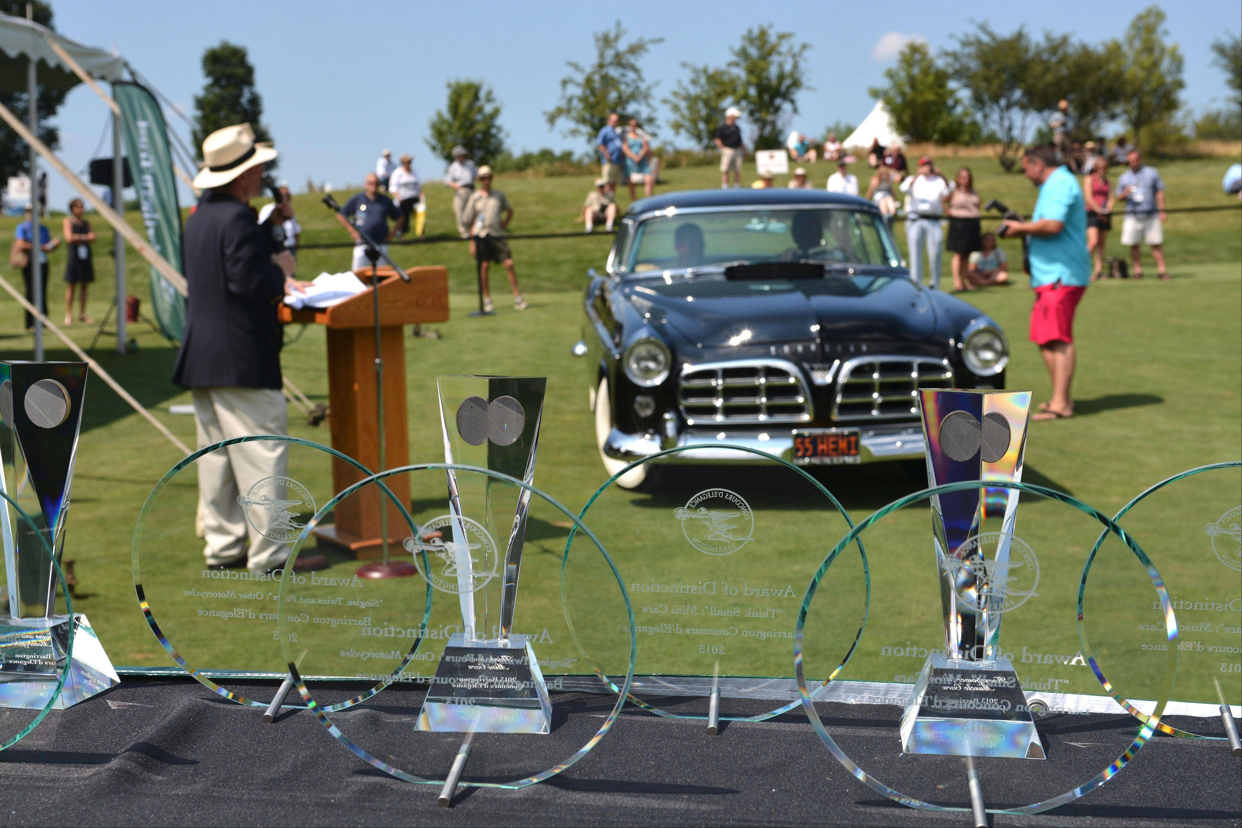 A total of 58 awards were presented at the Concours.