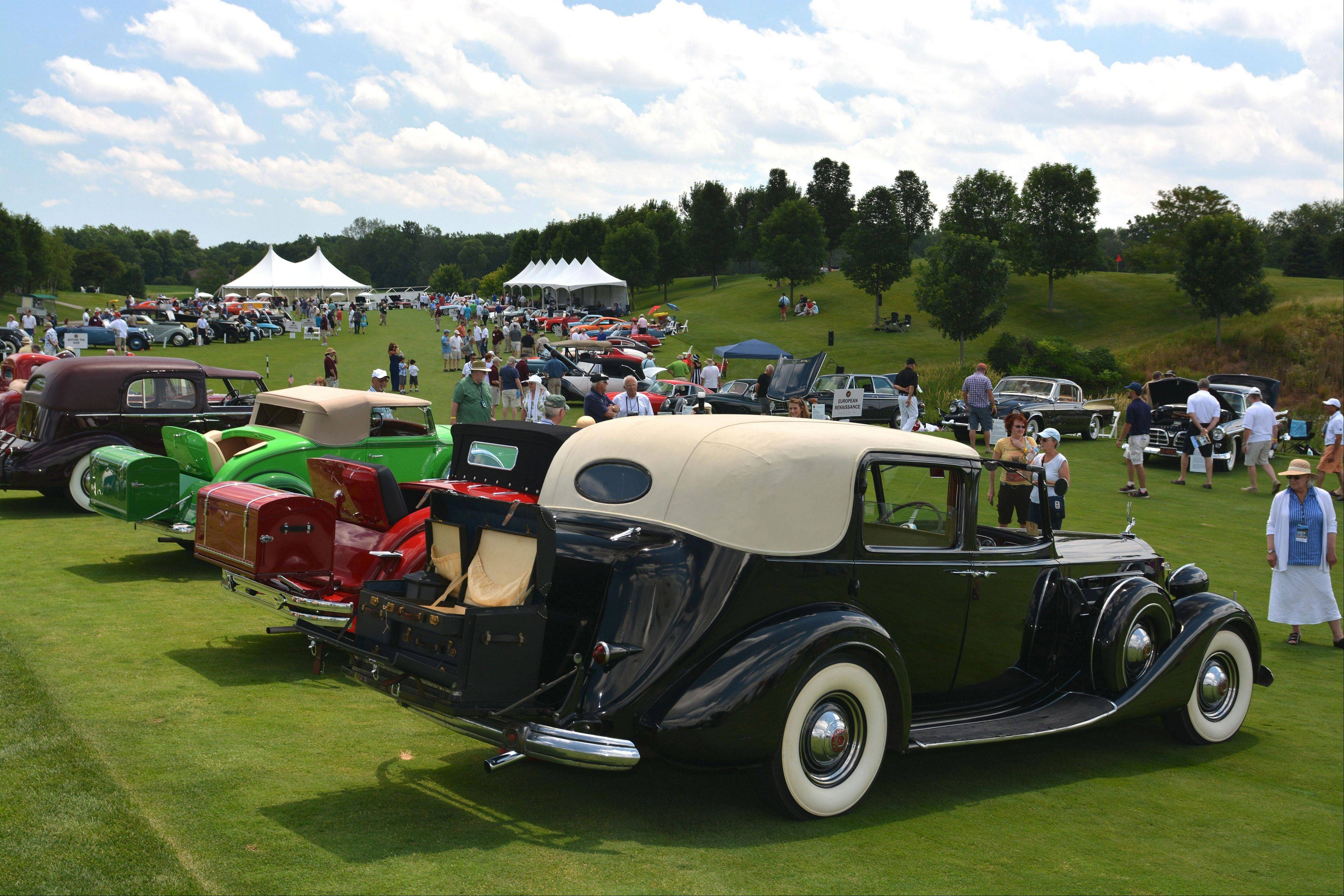 The fundraising event will move to Chicago's Northerly Island next year, to be re-christened the Concours d'Elegance of Chicago.