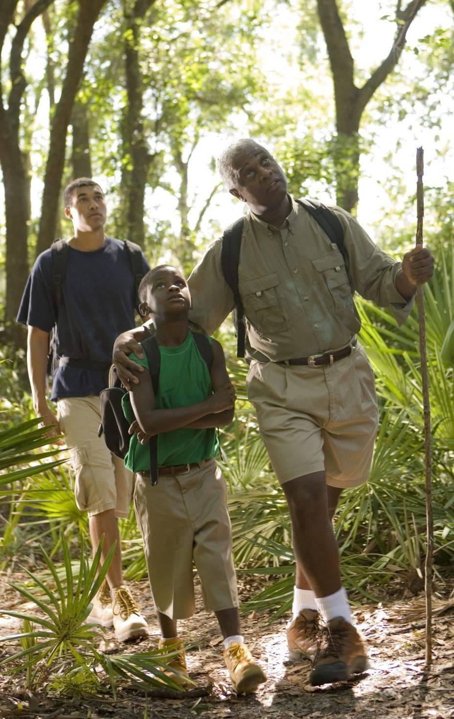 Going for a hike can create a family bond and the physical activity benefits everyone involved.