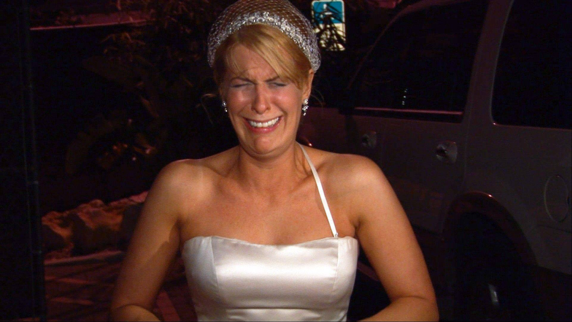 "Bride Kirsten Walker was showcased on the sixth season of the popular wedding series ""Bridezillas."""