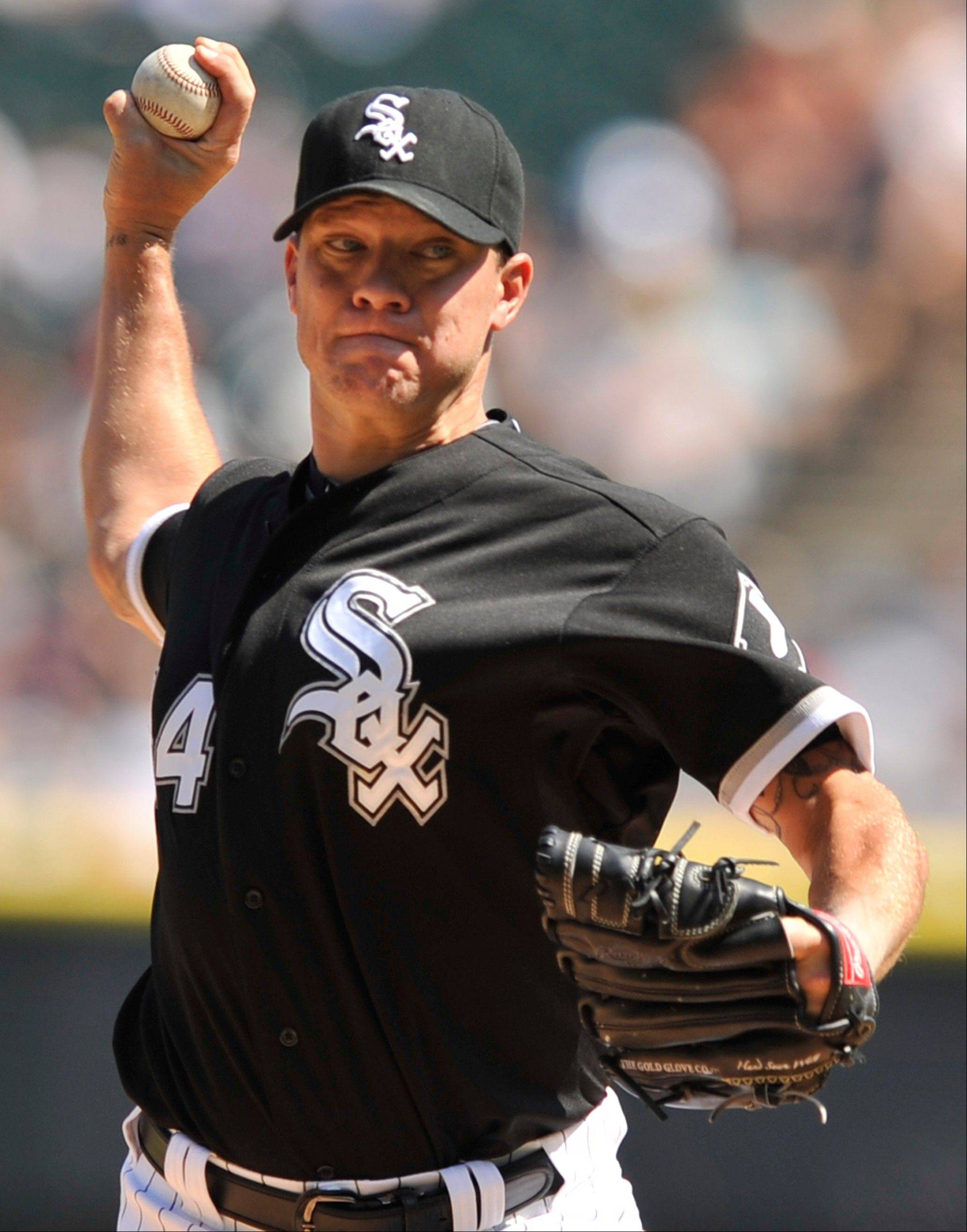 It figures to be an interesting week for the White Sox, but Jake Peavy and the rest of the starting rotation might still be around after the trade deadline.