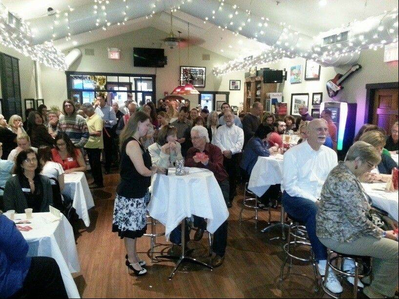 "Over 100 guests came out to support the Palatine Township Senior Center for the ""Beers to You!"" fundraising event June 5, at Lamplighter Inn in Palatine."