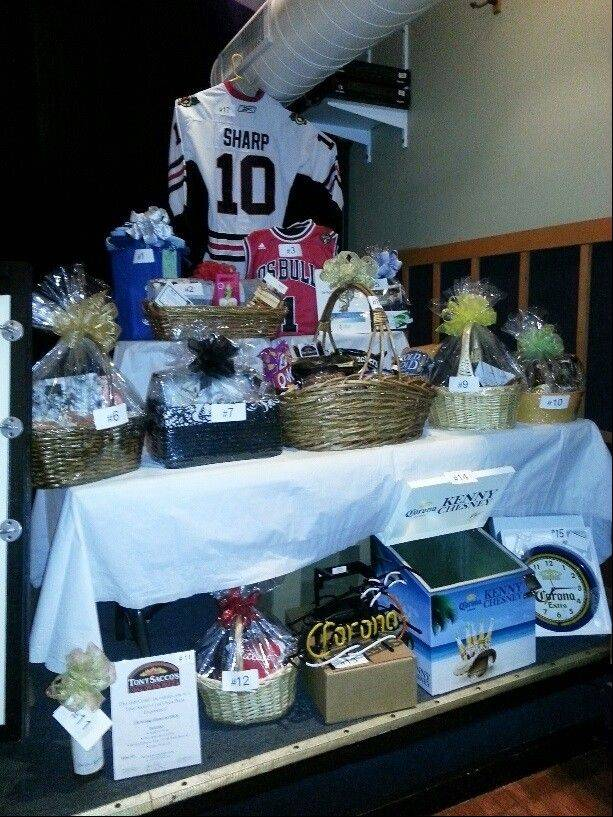 "A Patrick Sharp Chicago Blackhawks jersey was just one of the many items raffled to raise funds for the Palatine Township Senior Center at the ""Beers to You!"" Beer Tasting Fundraiser June 5."
