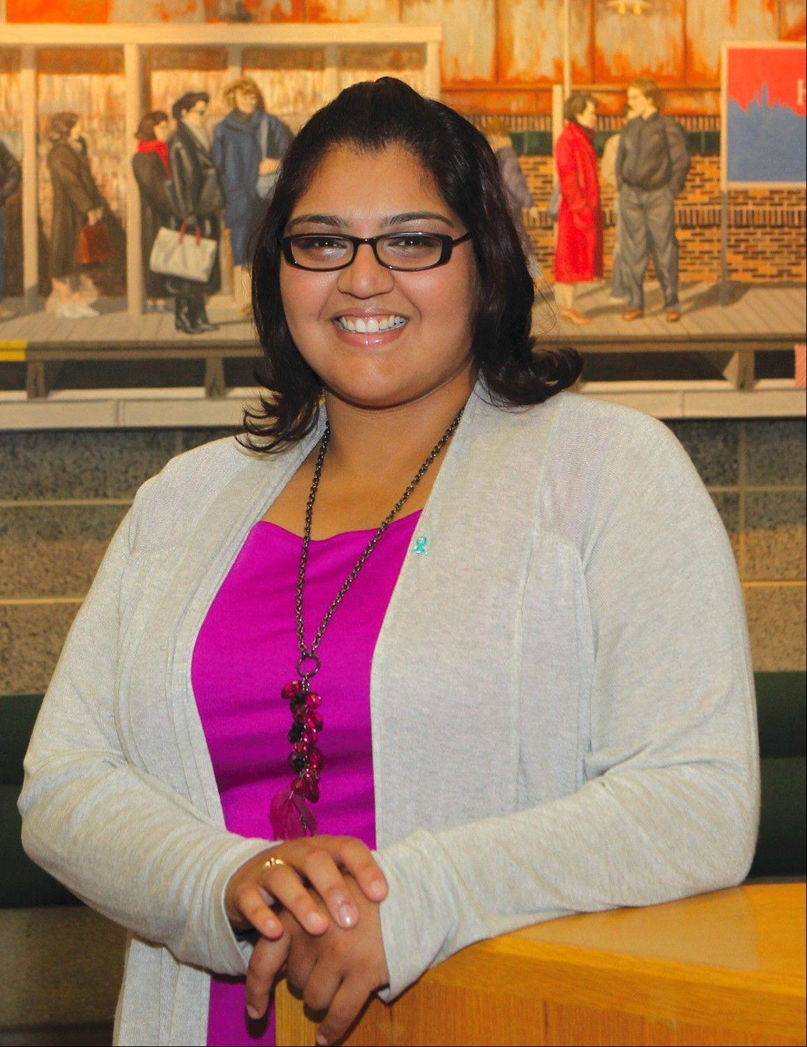 Karishma Brownlee, coordinator for Access, Equity and Student Rights at Oakton Community College
