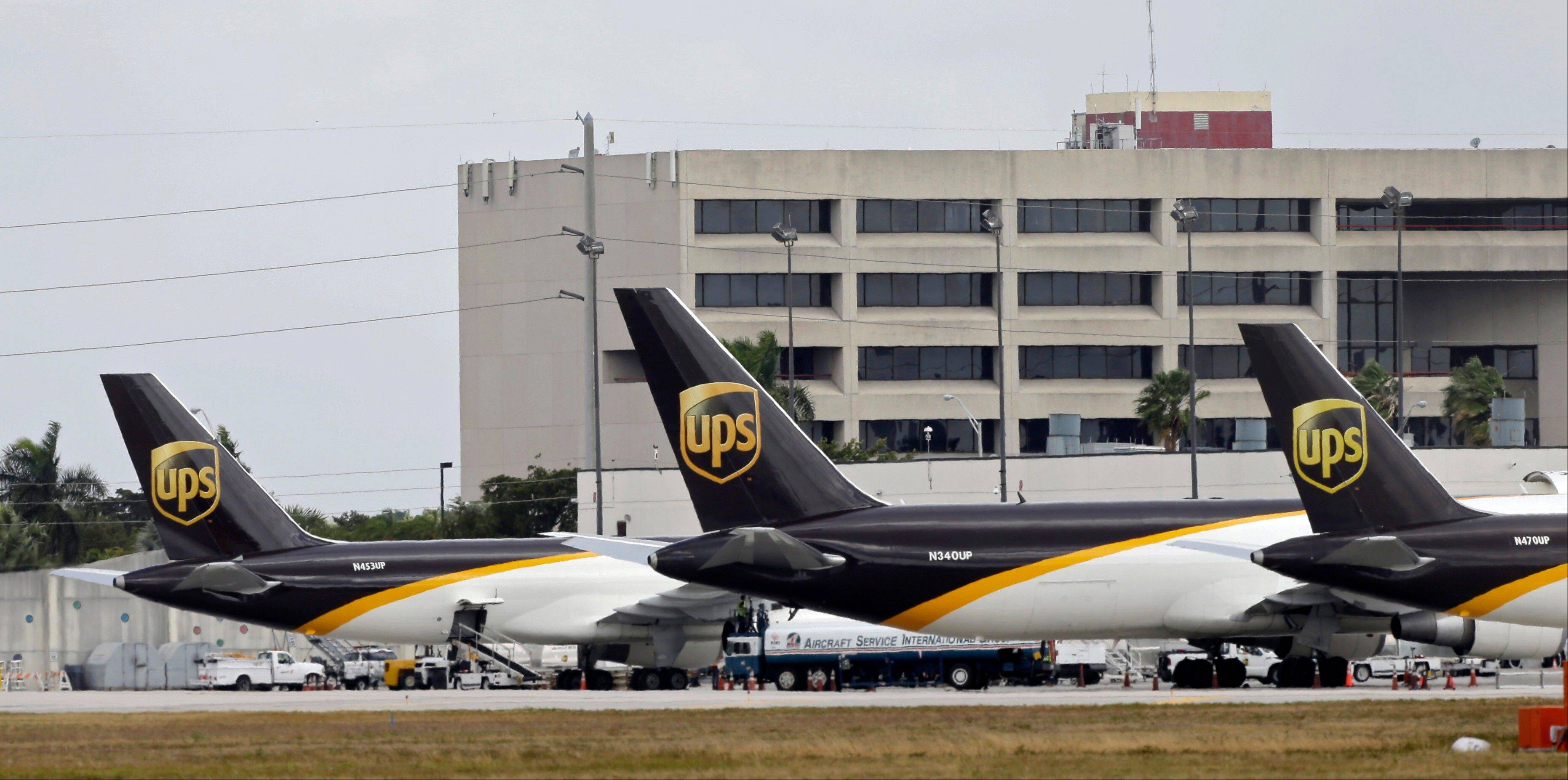 UPS said Tuesday that second-quarter profit fell 4 percent as customers shifted from premium toward lower-priced shipped services. The company called the results disappointing and said it was adapting to the changing market.