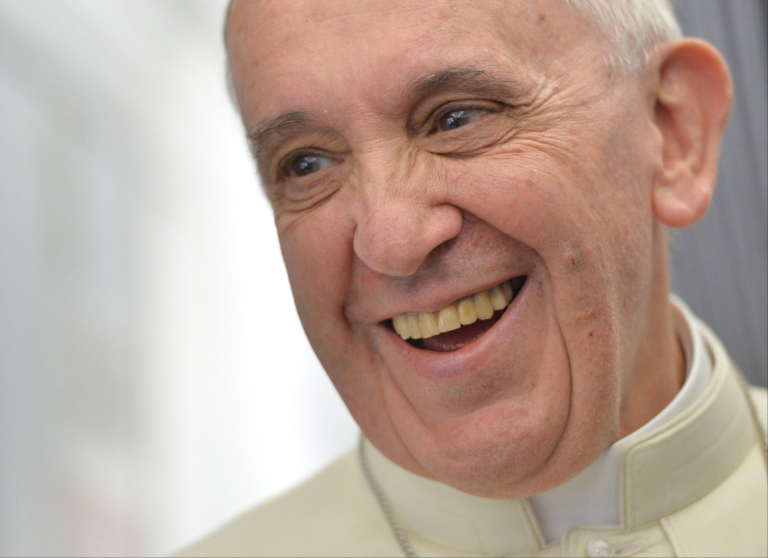 "Pope Francis, the 76-year-old Argentine who became the church's first pontiff from the Americas in March, returns to the embrace of Latin America to preside over the Roman Catholic Church's World Youth Day festival. During his flight from Rome, Francis warned about youth unemployment in some countries in the double digits, telling about 70 journalists aboard the papal plane that there is a ""risk of having a generation that hasn't worked."" He said, ""Young people at this moment are in crisis."""