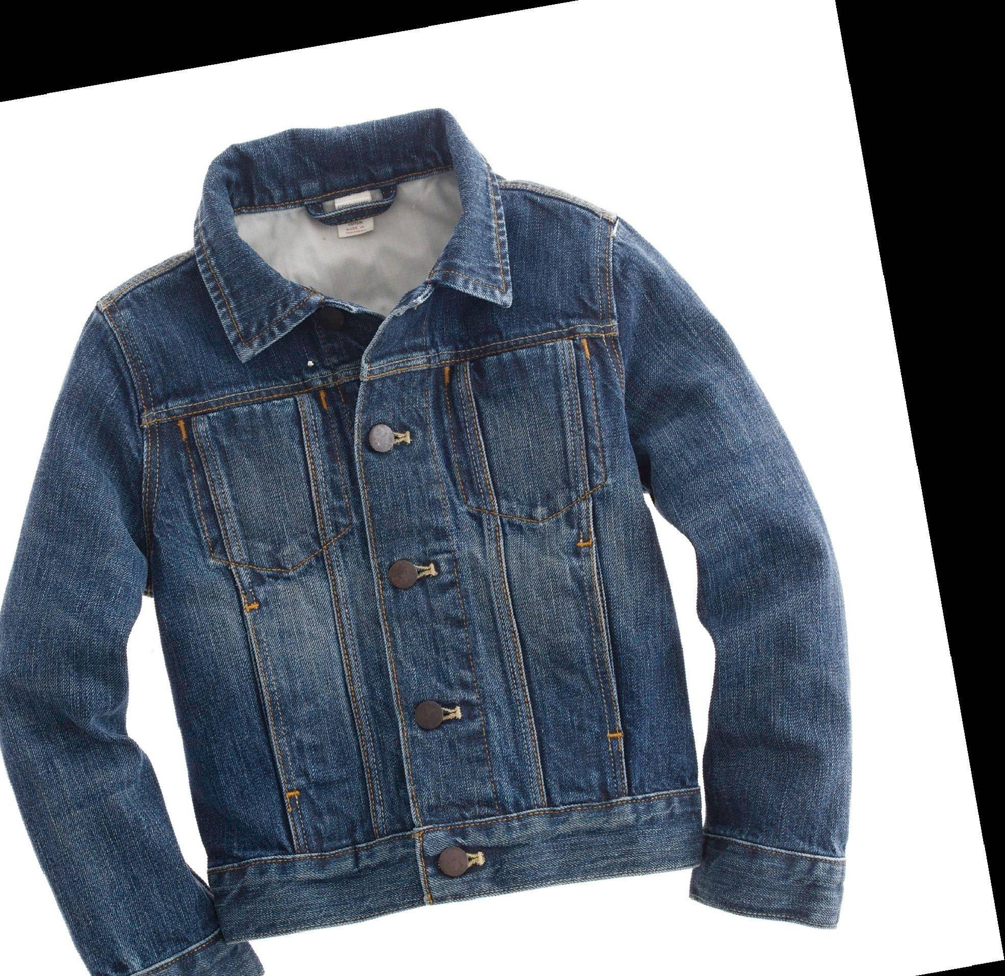 Denim jackets can add a fun edge to any outfit and are trendy for girls of all ages. $128 at J. Crew, jcrew.com