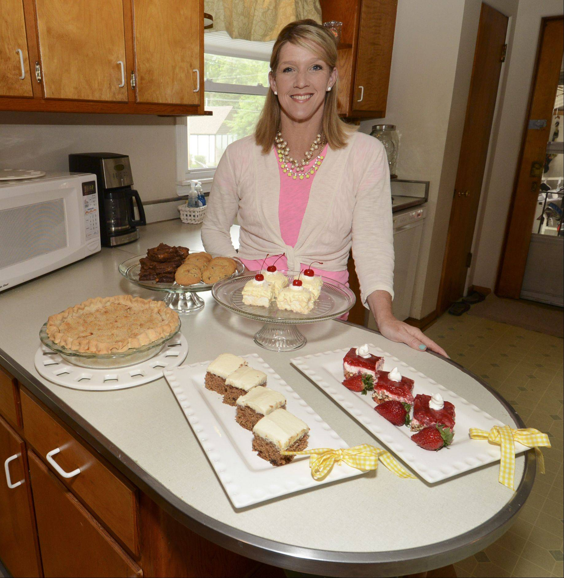 Karen Felker says her small-town roots have helped her find balance when it comes to her love of dessert.